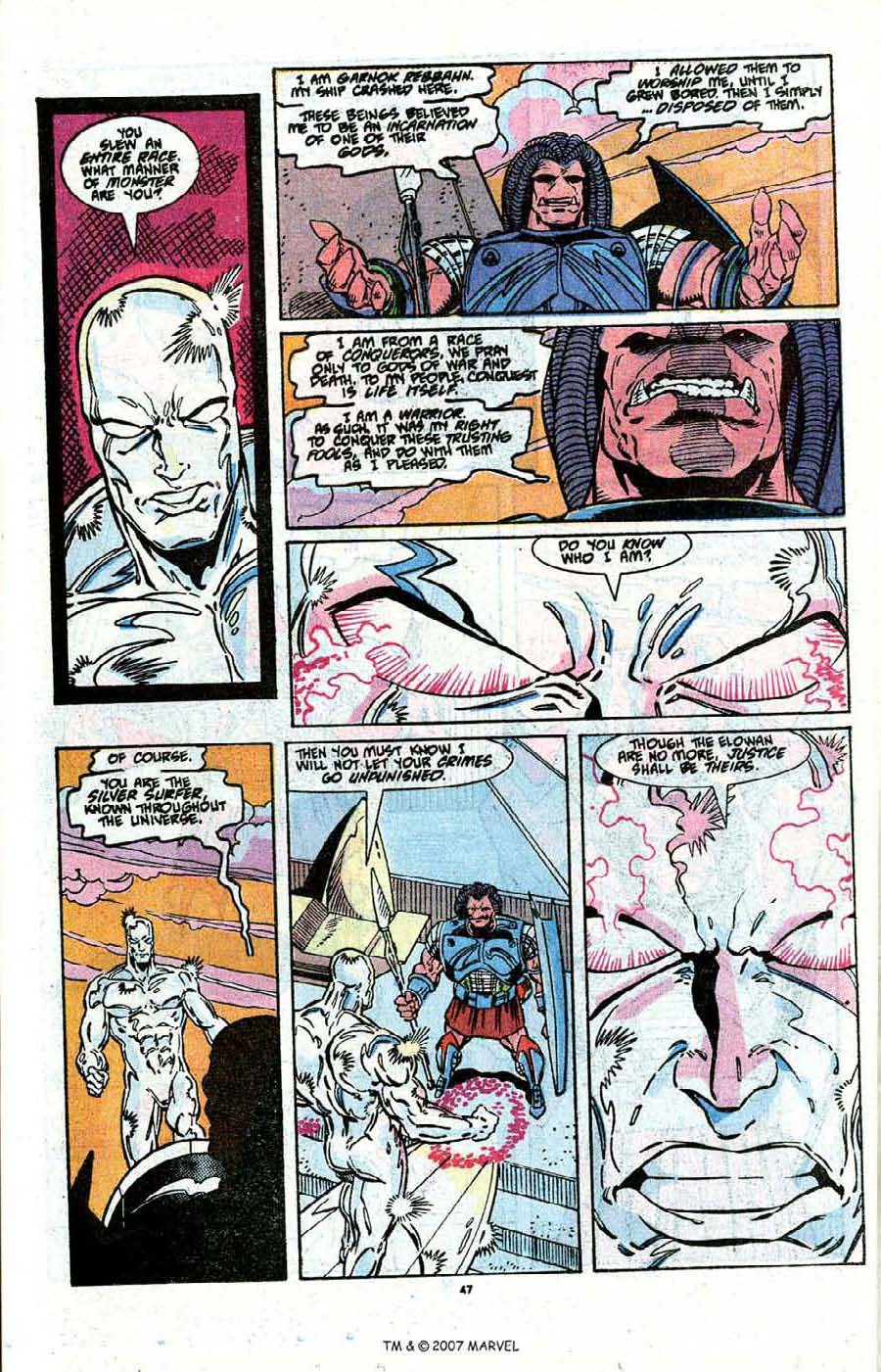 Read online Silver Surfer (1987) comic -  Issue # _Annual 3 - 49