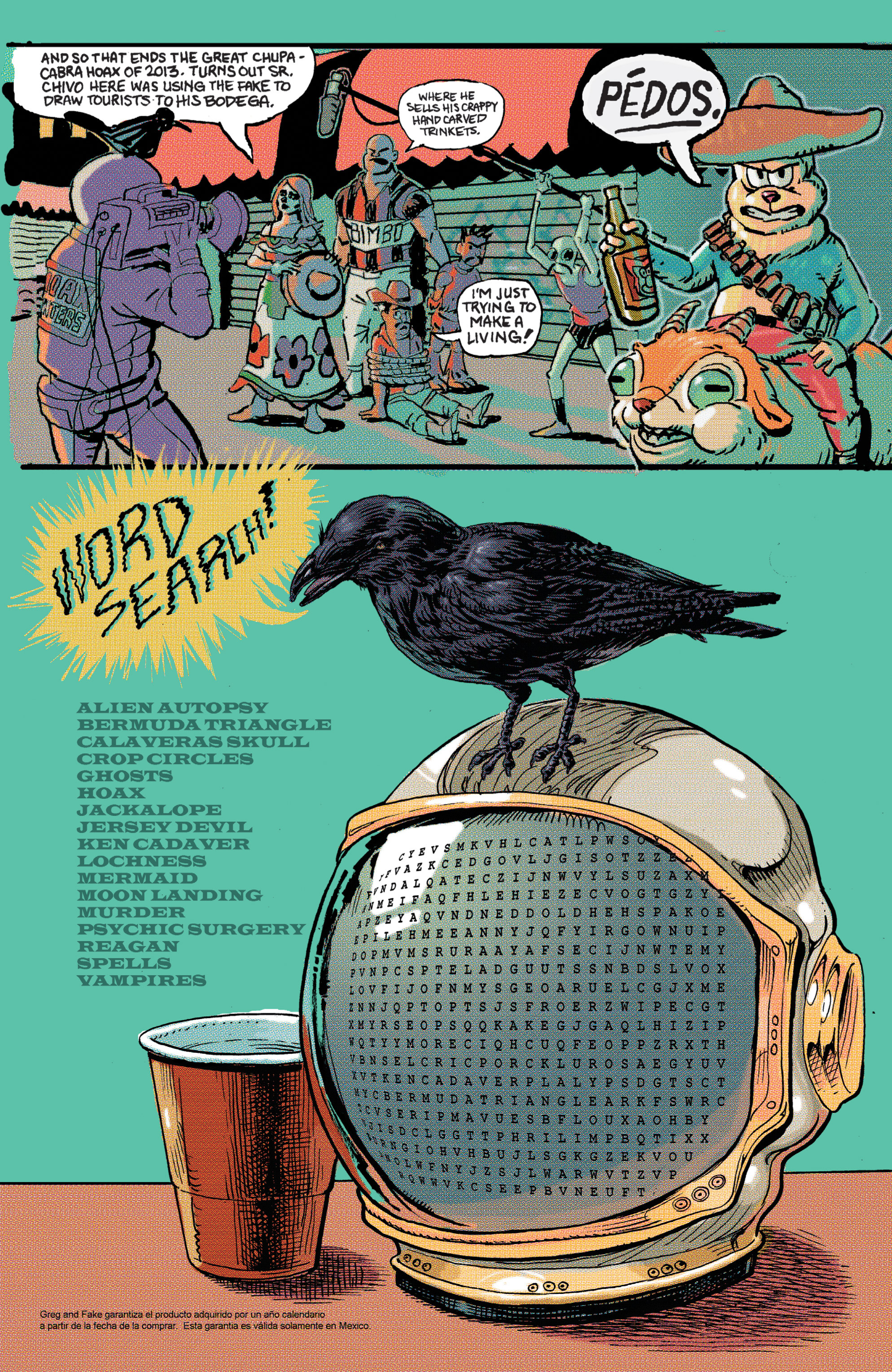Read online Hoax Hunters (2012) comic -  Issue # TPB 2 - 109