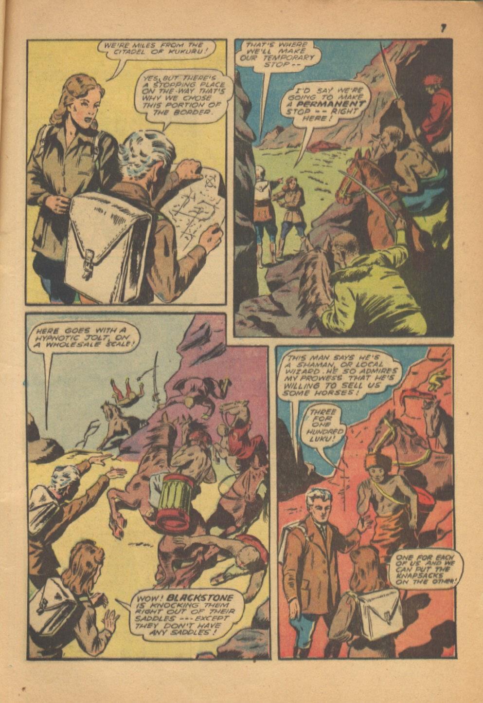 Read online Super-Magician Comics comic -  Issue #13 - 7