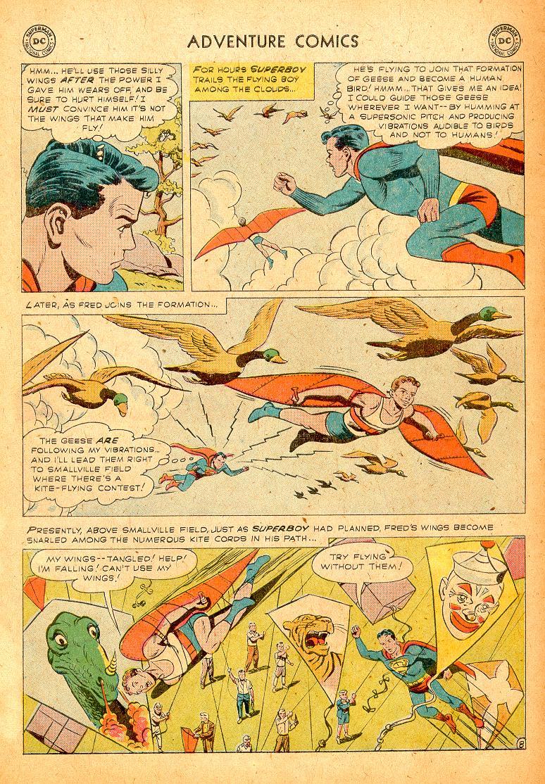 Read online Adventure Comics (1938) comic -  Issue #254 - 10