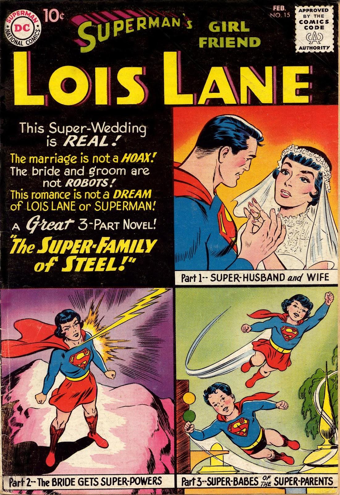 Supermans Girl Friend, Lois Lane 15 Page 1