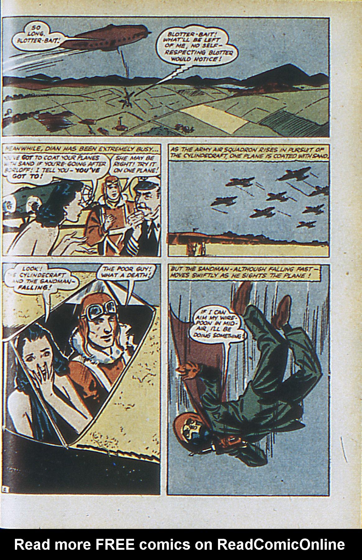 Read online Adventure Comics (1938) comic -  Issue #61 - 64