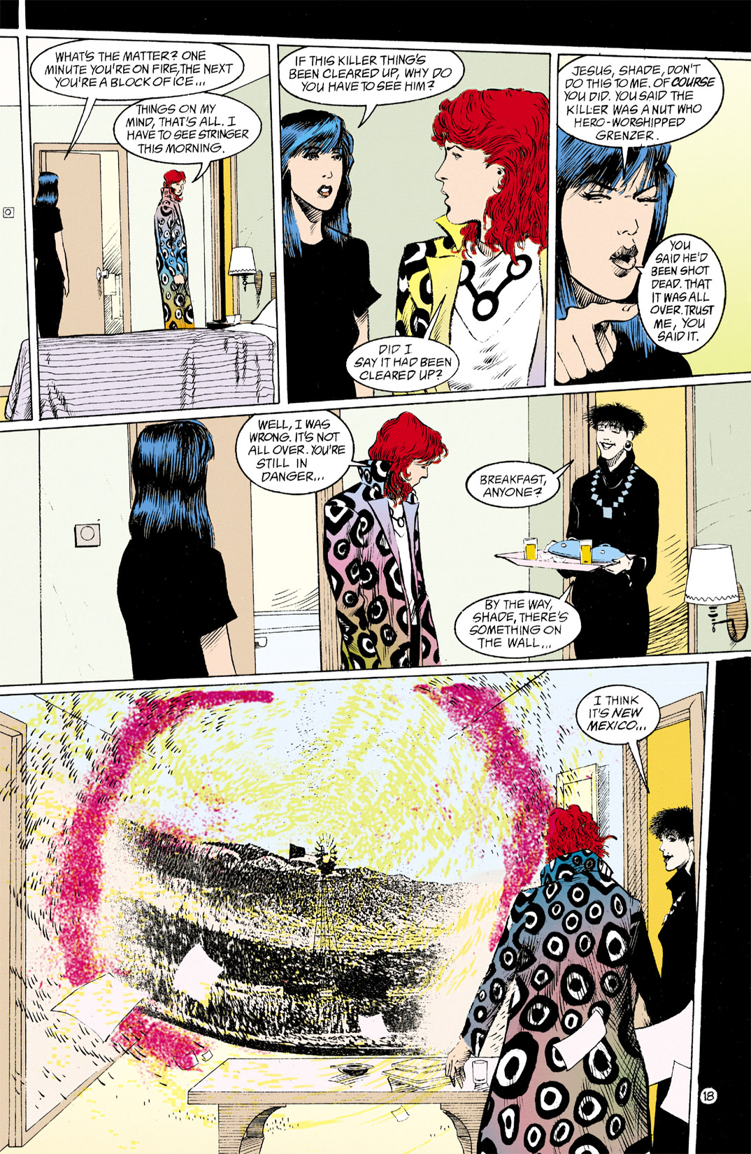 Read online Shade, the Changing Man comic -  Issue #12 - 19