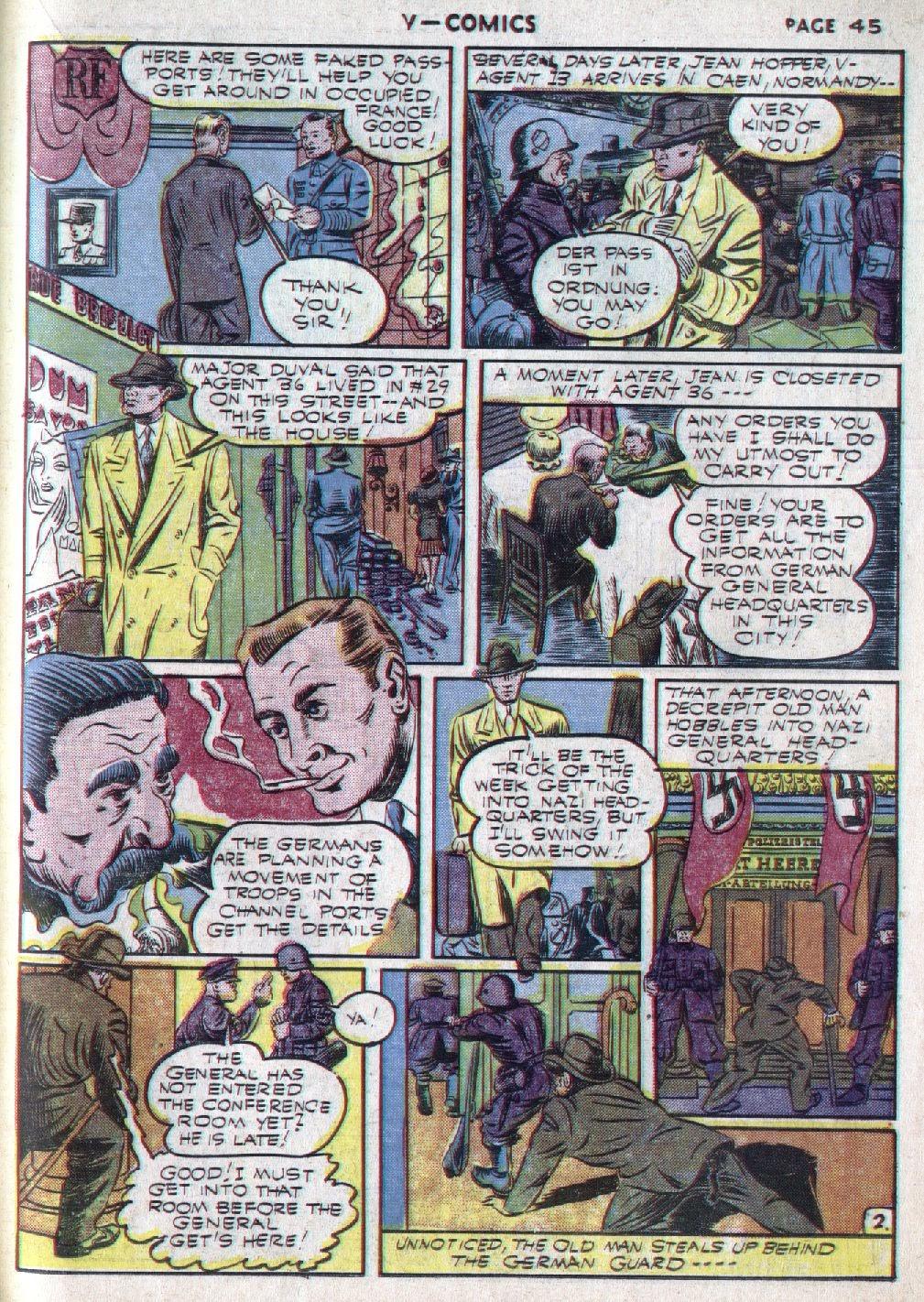 Read online V...- Comics comic -  Issue #1 - 46