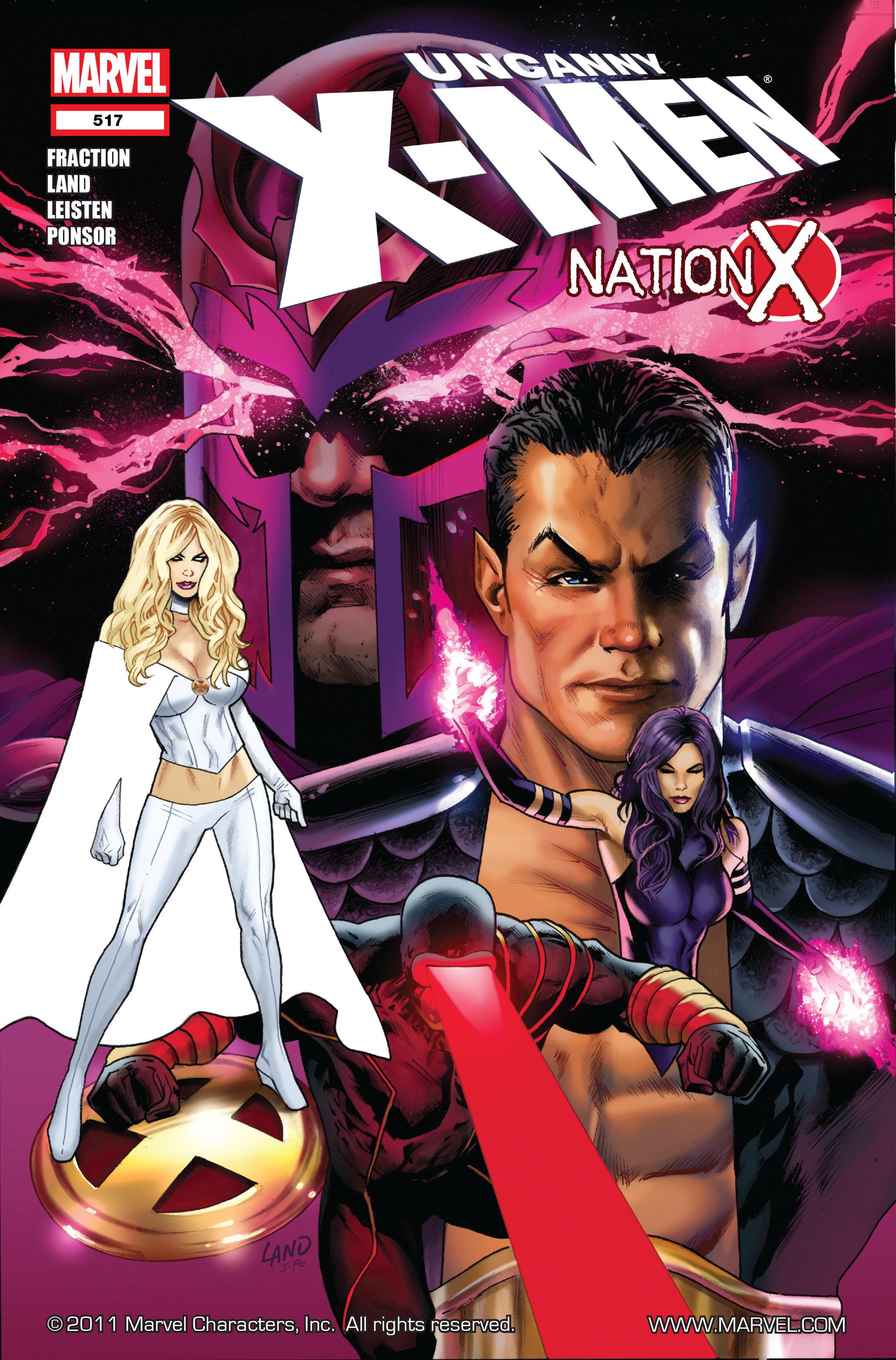 Uncanny X-Men (1963) 517 Page 1