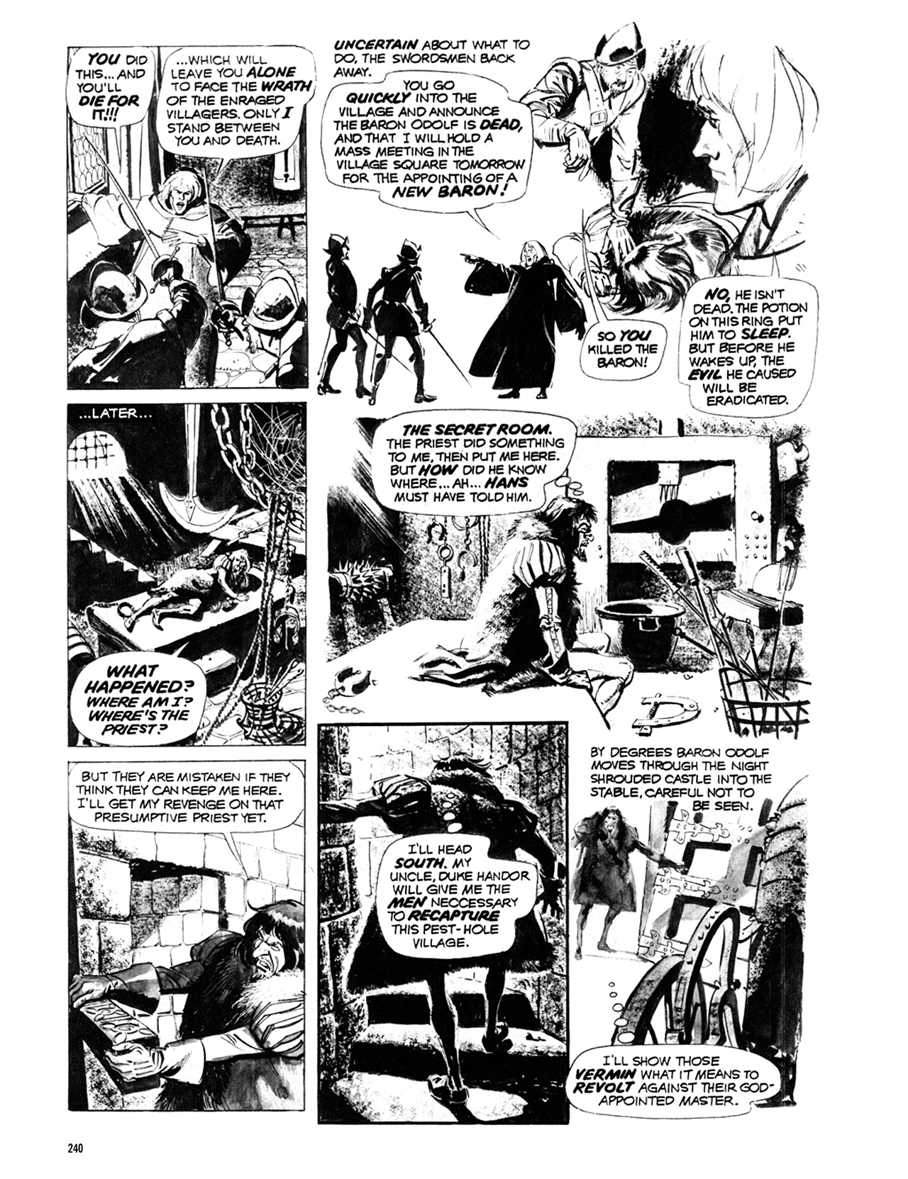 Read online Eerie Archives comic -  Issue # TPB 10 - 241
