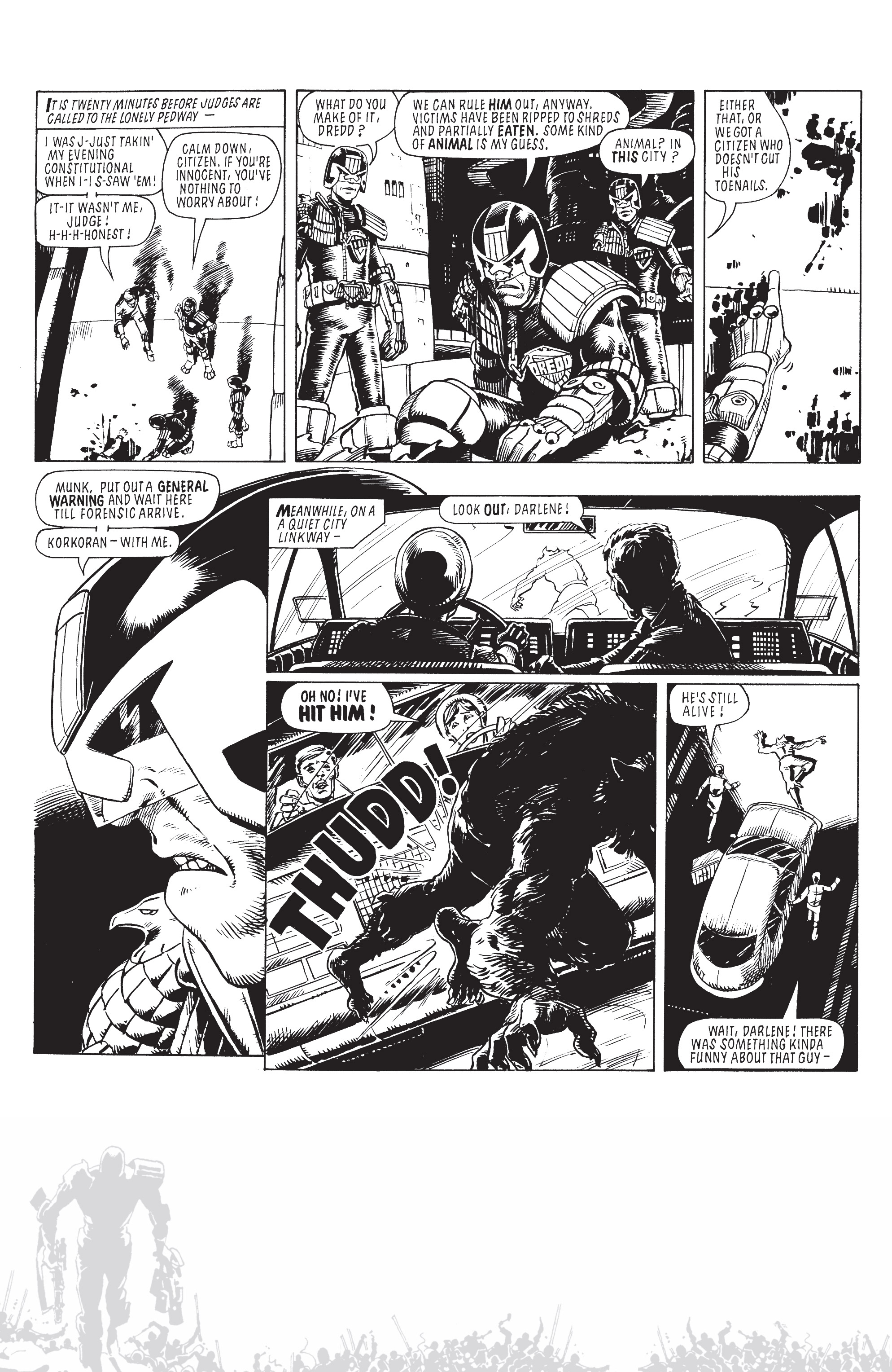 Read online Judge Dredd: The Blessed Earth comic -  Issue #2 - 31