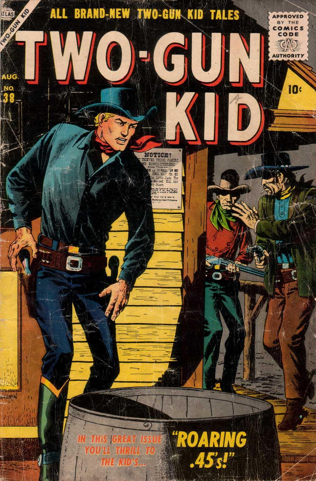 Read online Two-Gun Kid comic -  Issue #38 - 1