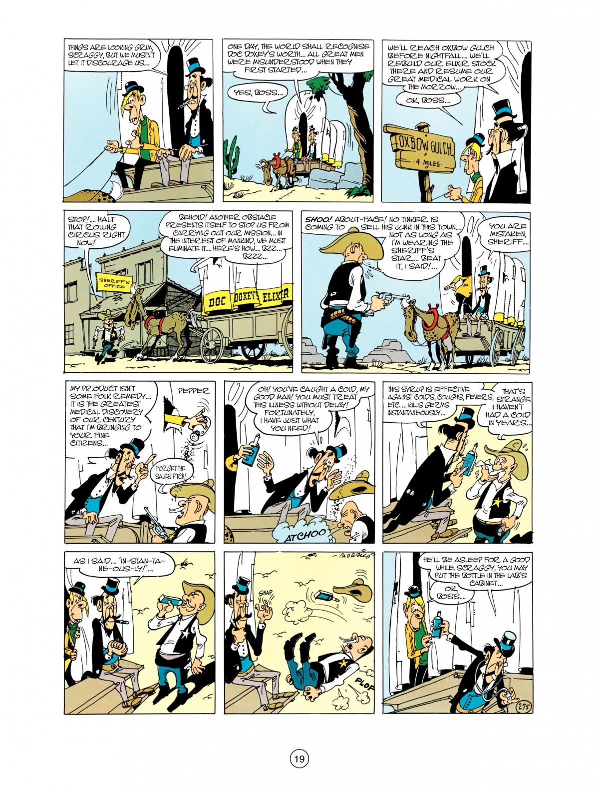 Read online A Lucky Luke Adventure comic -  Issue #38 - 19