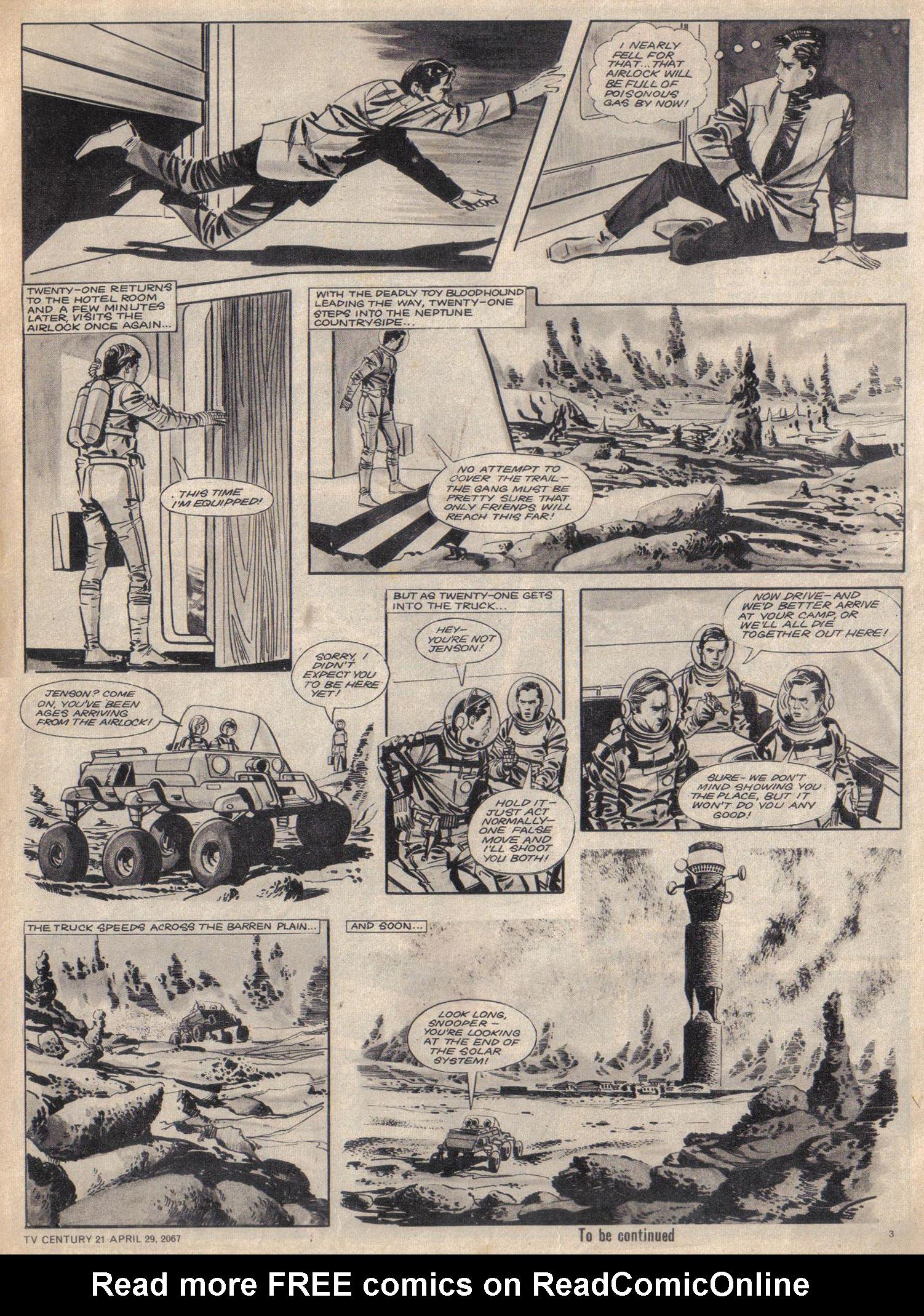 Read online TV Century 21 (TV 21) comic -  Issue #119 - 3