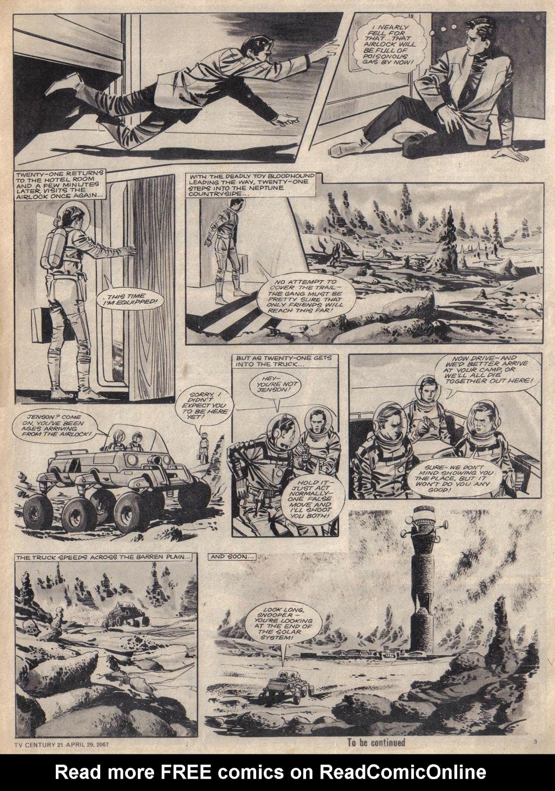 TV Century 21 (TV 21) issue 119 - Page 3