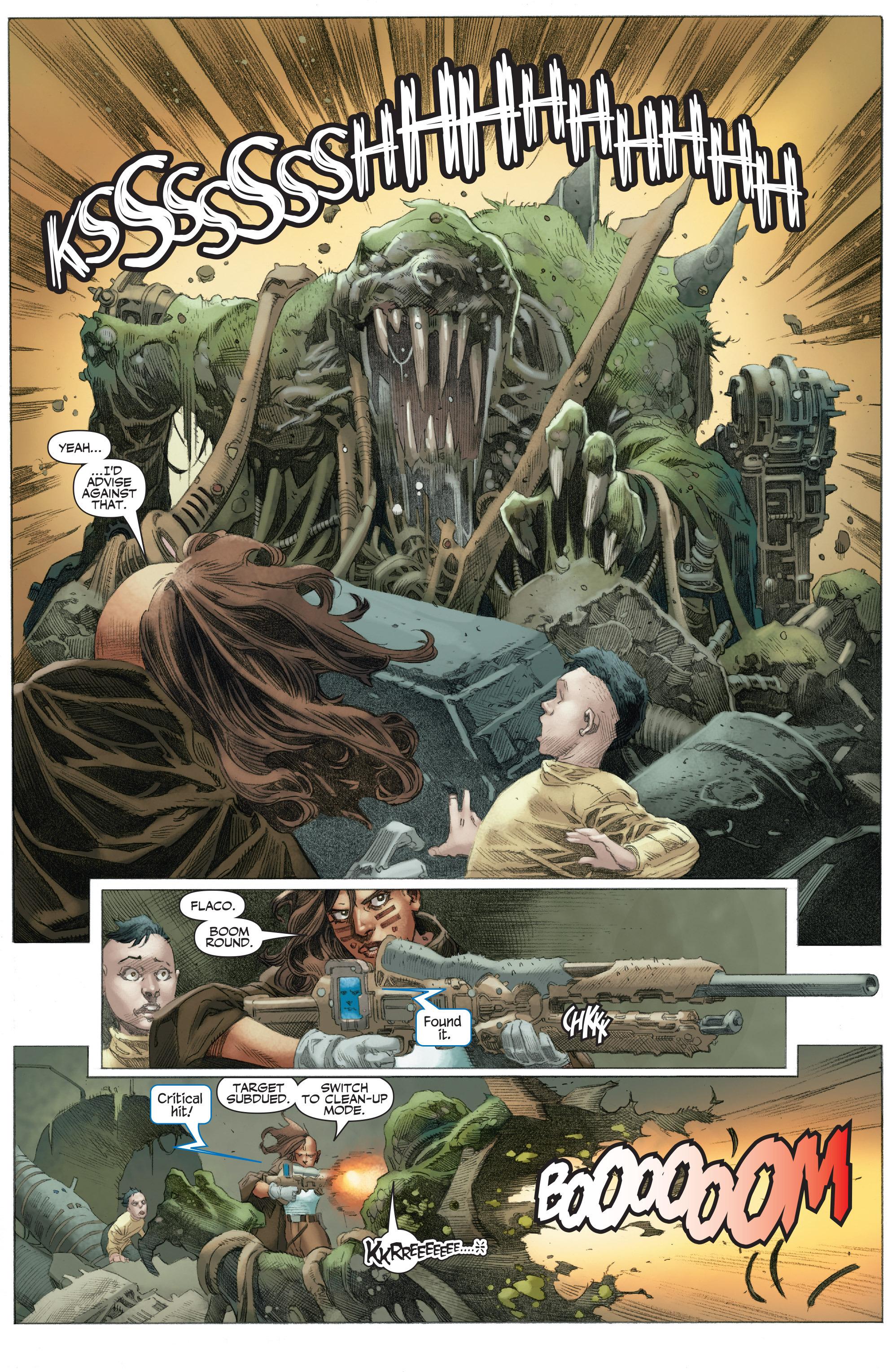 Read online 4001 A.D.: War Mother comic -  Issue #4001 A.D.: War Mother Full - 21