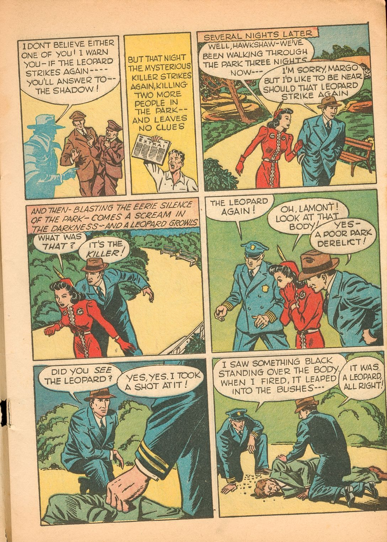 Read online Shadow Comics comic -  Issue #11 - 7