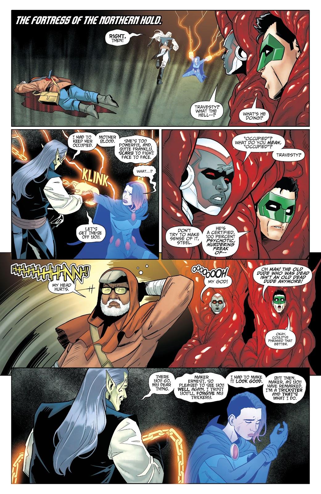 Read online Titans (2016) comic -  Issue #35 - 12