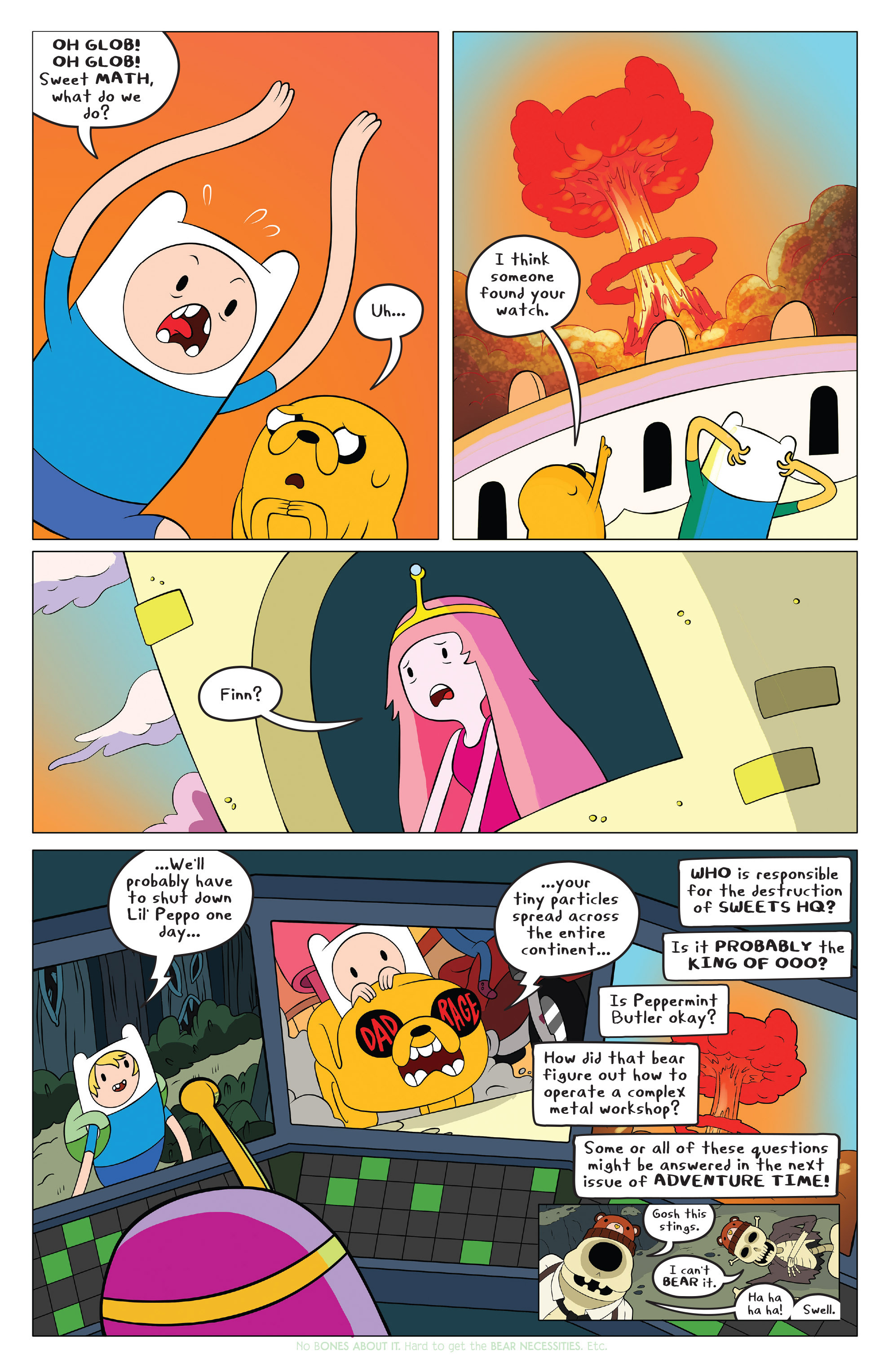 Read online Adventure Time comic -  Issue #42 - 18