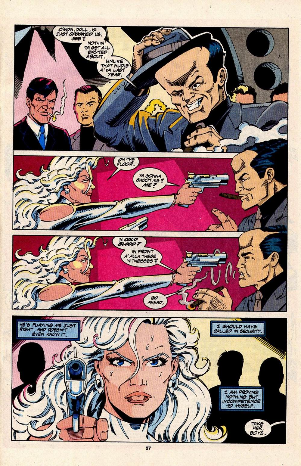 Read online Silver Sable and the Wild Pack comic -  Issue #31 - 21