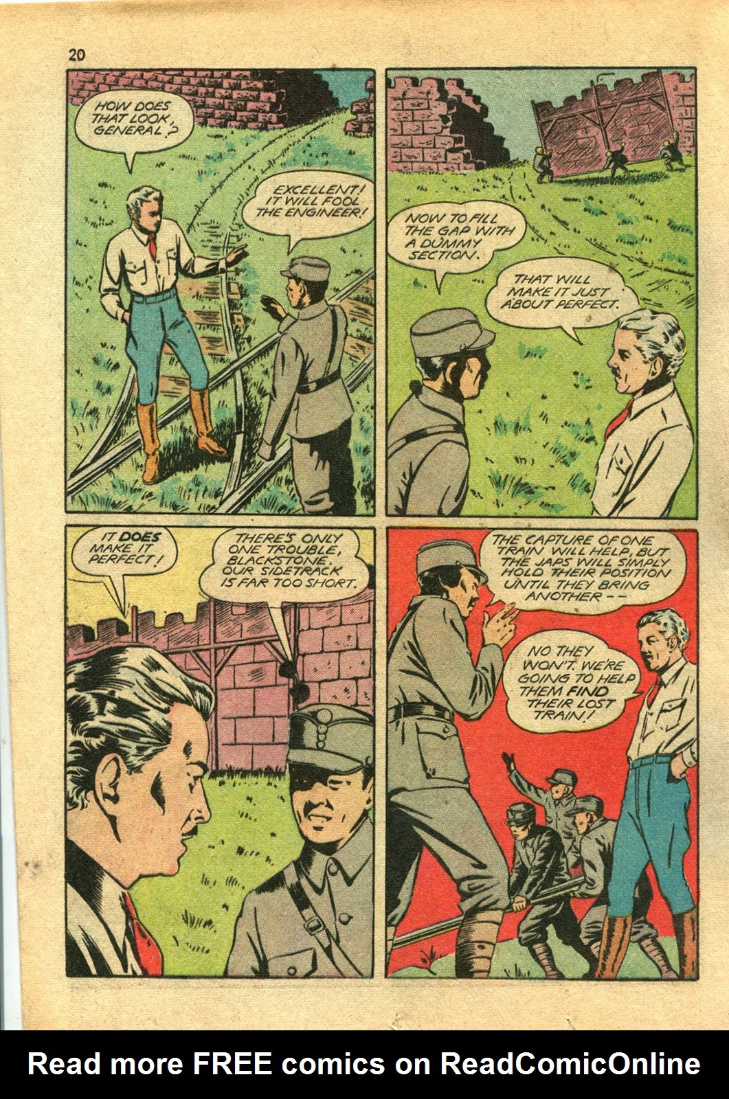 Read online Super-Magician Comics comic -  Issue #14 - 20