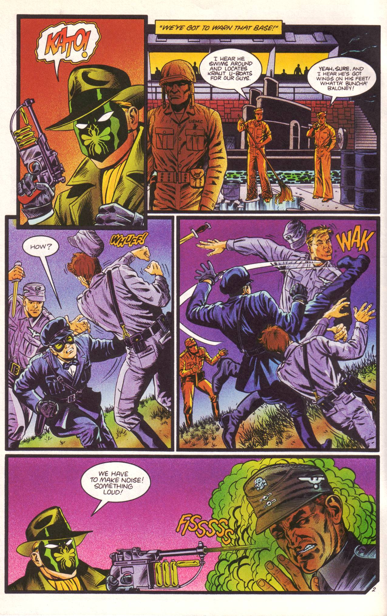 Read online Sting of The Green Hornet comic -  Issue #3 - 3