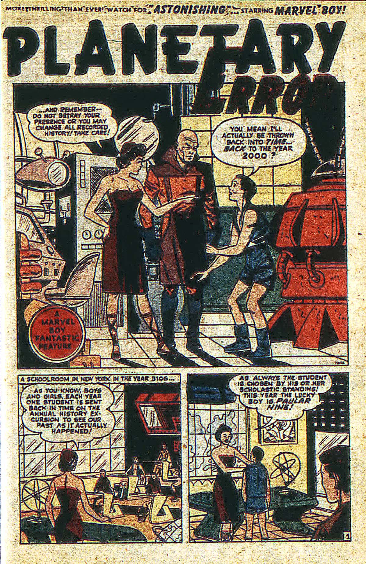 Read online Marvel Boy (1950) comic -  Issue #2 - 18