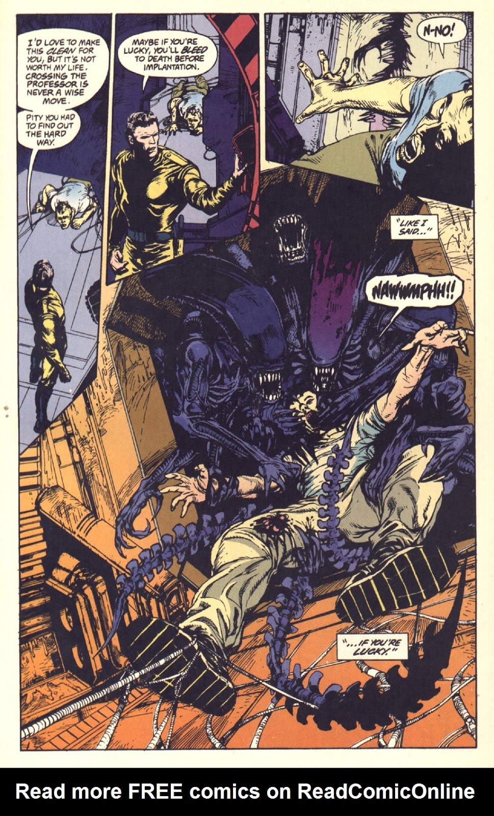 Read online Aliens: Rogue comic -  Issue #1 - 21