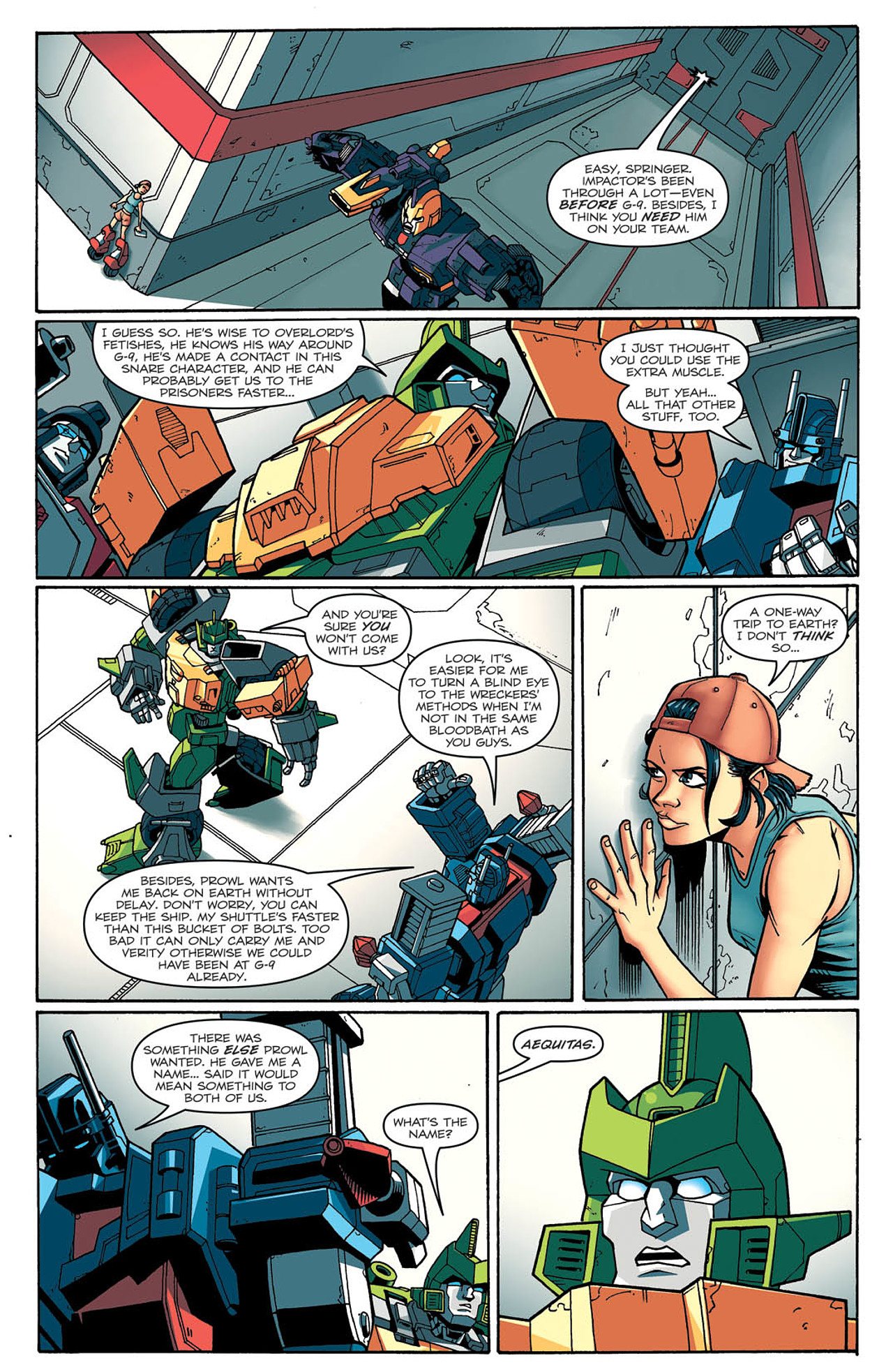 Read online Transformers: Last Stand of The Wreckers comic -  Issue #2 - 13