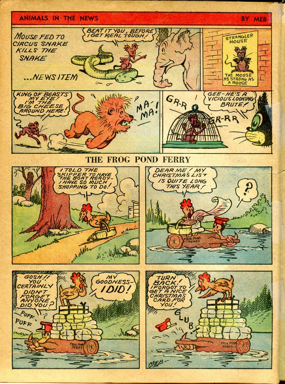 Read online Famous Funnies comic -  Issue #41 - 66