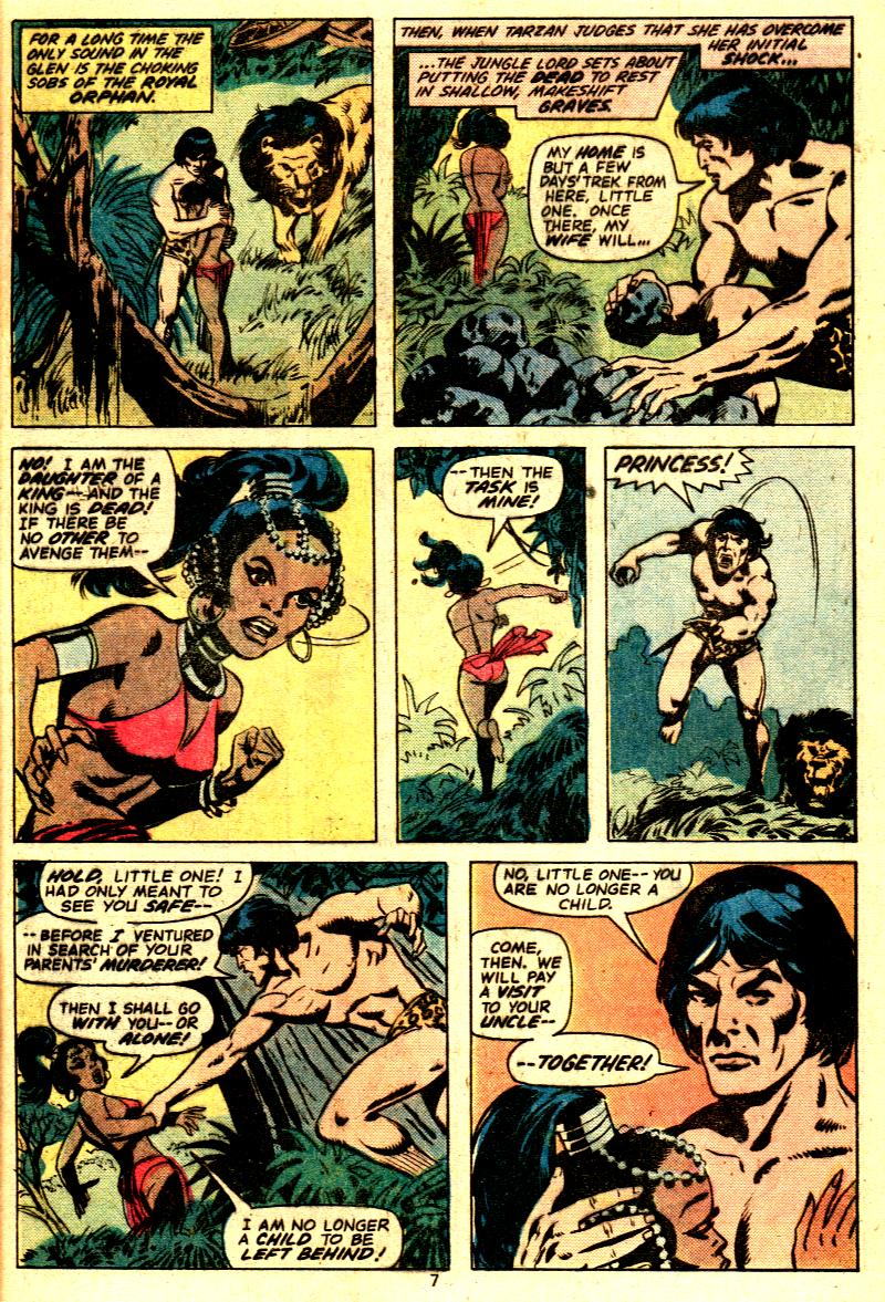 Read online Tarzan (1977) comic -  Issue # _Annual 2 - 6