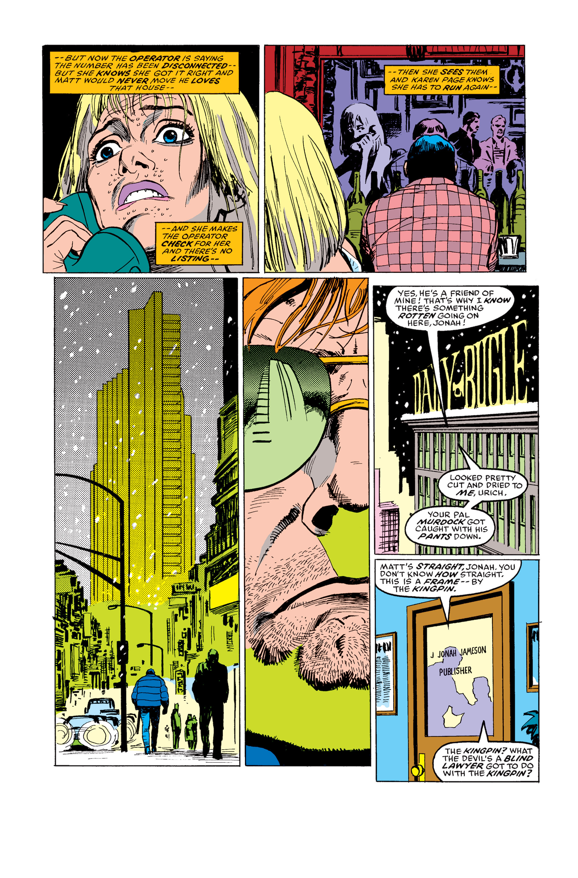 Read online Daredevil: Born Again comic -  Issue # Full - 68