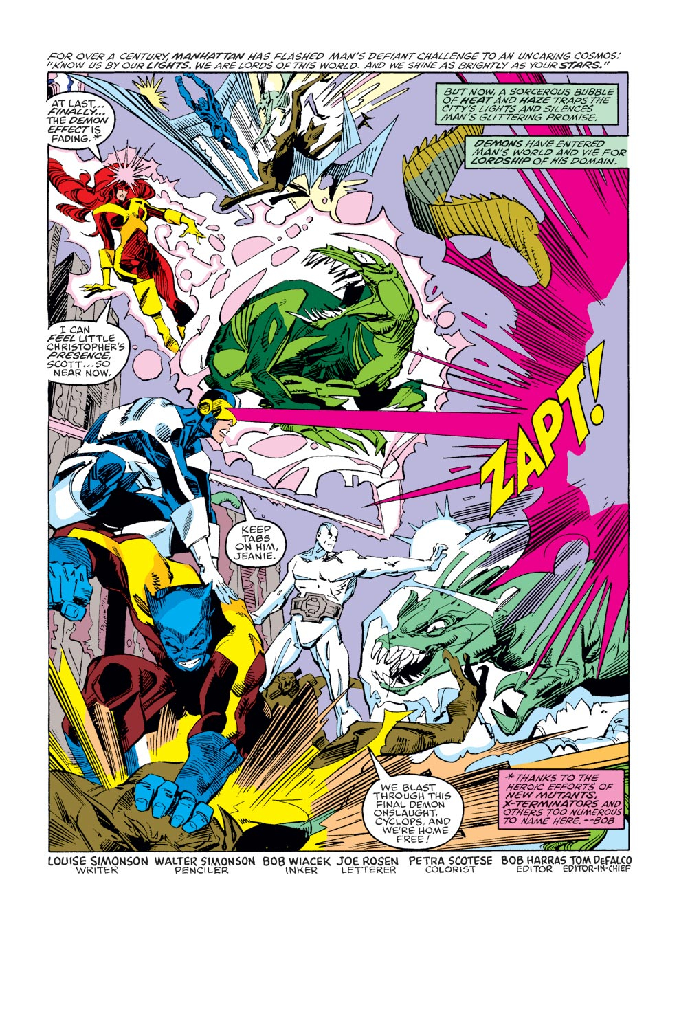 Read online X-Factor (1986) comic -  Issue #37 - 2