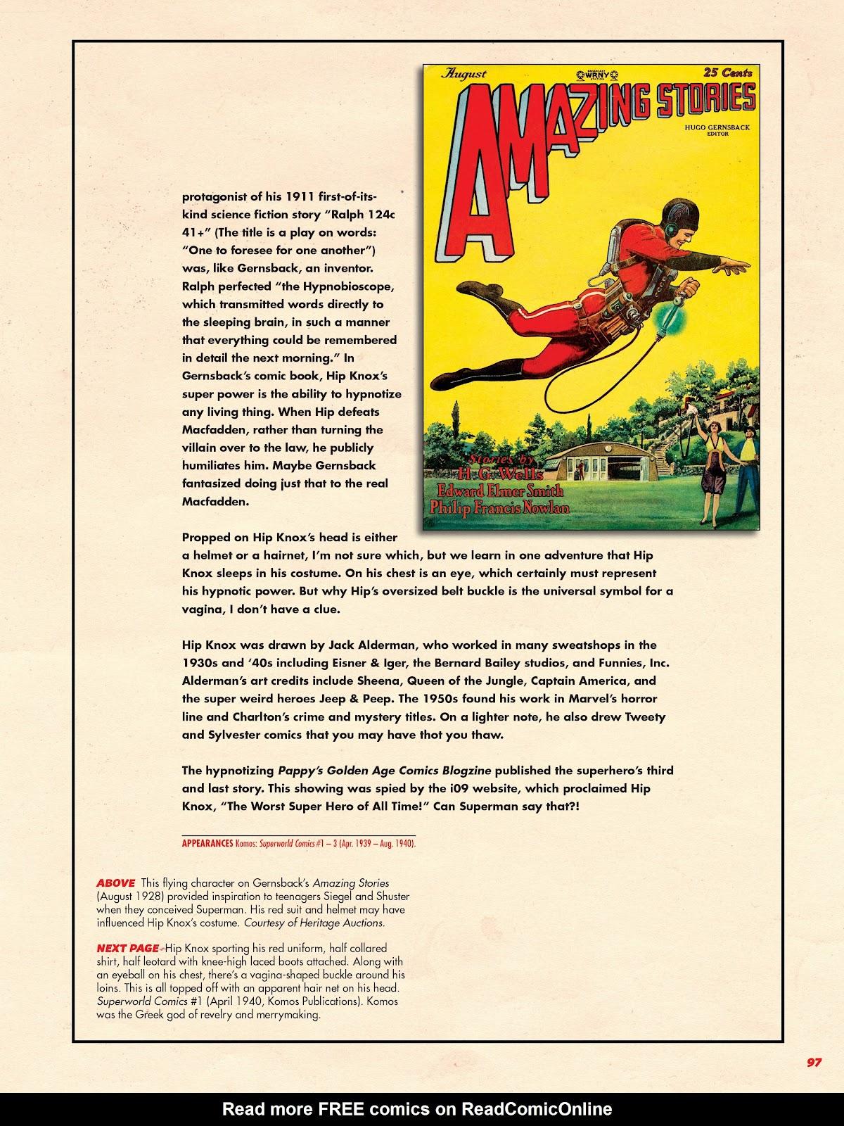 Read online Super Weird Heroes comic -  Issue # TPB 2 (Part 1) - 97