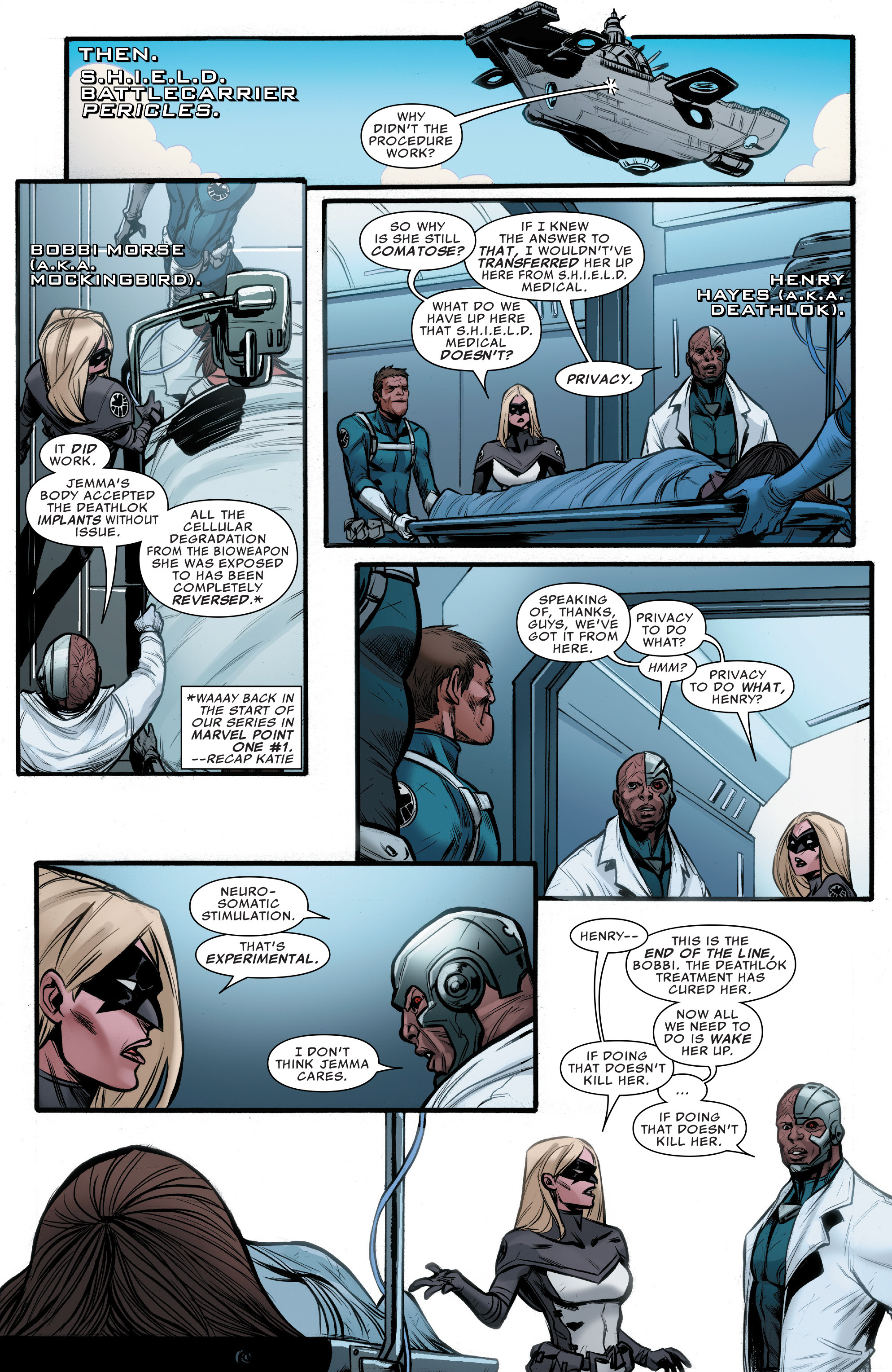 Read online Agents of S.H.I.E.L.D. comic -  Issue #10 - 4