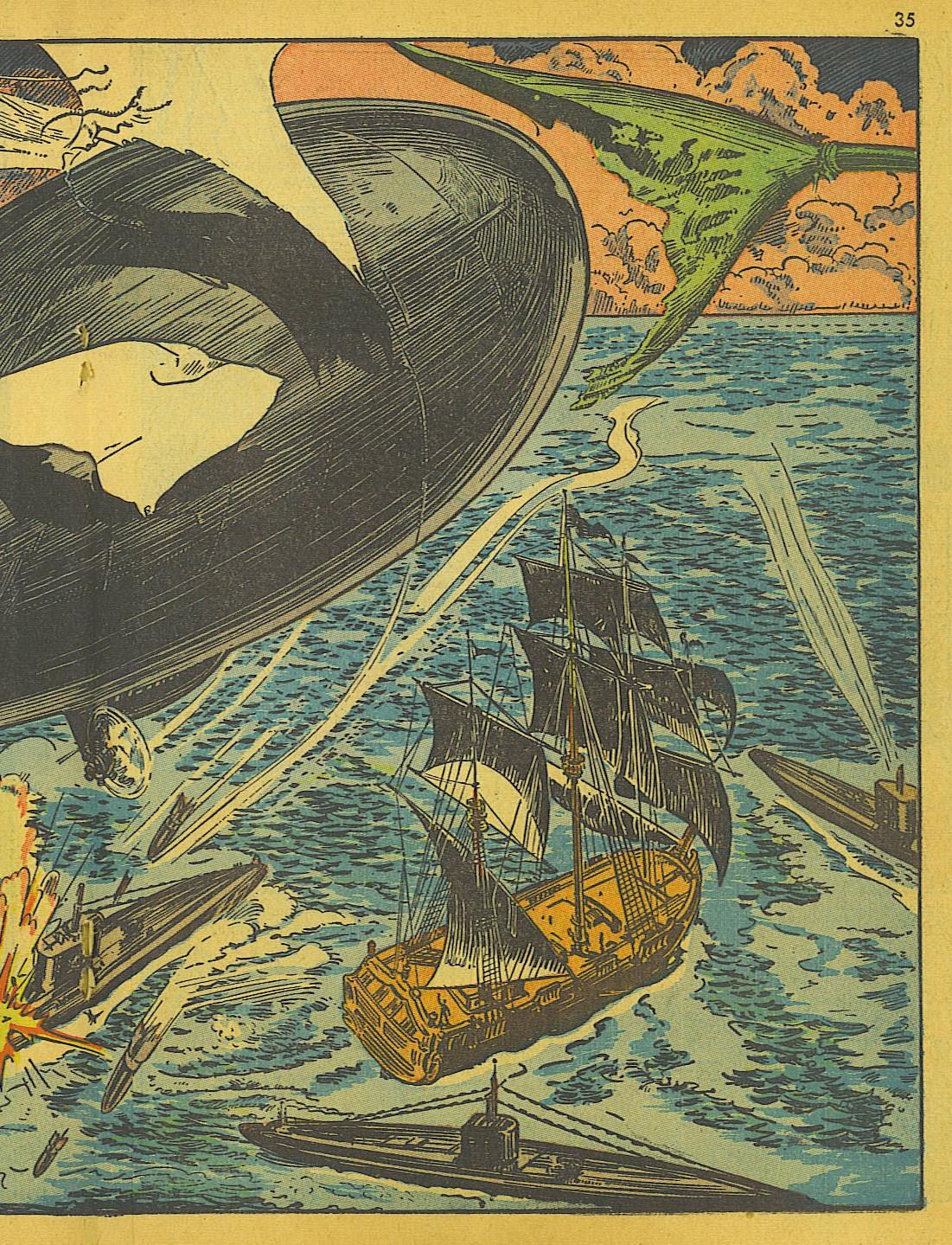 Read online Super-Magician Comics comic -  Issue #10 - 35
