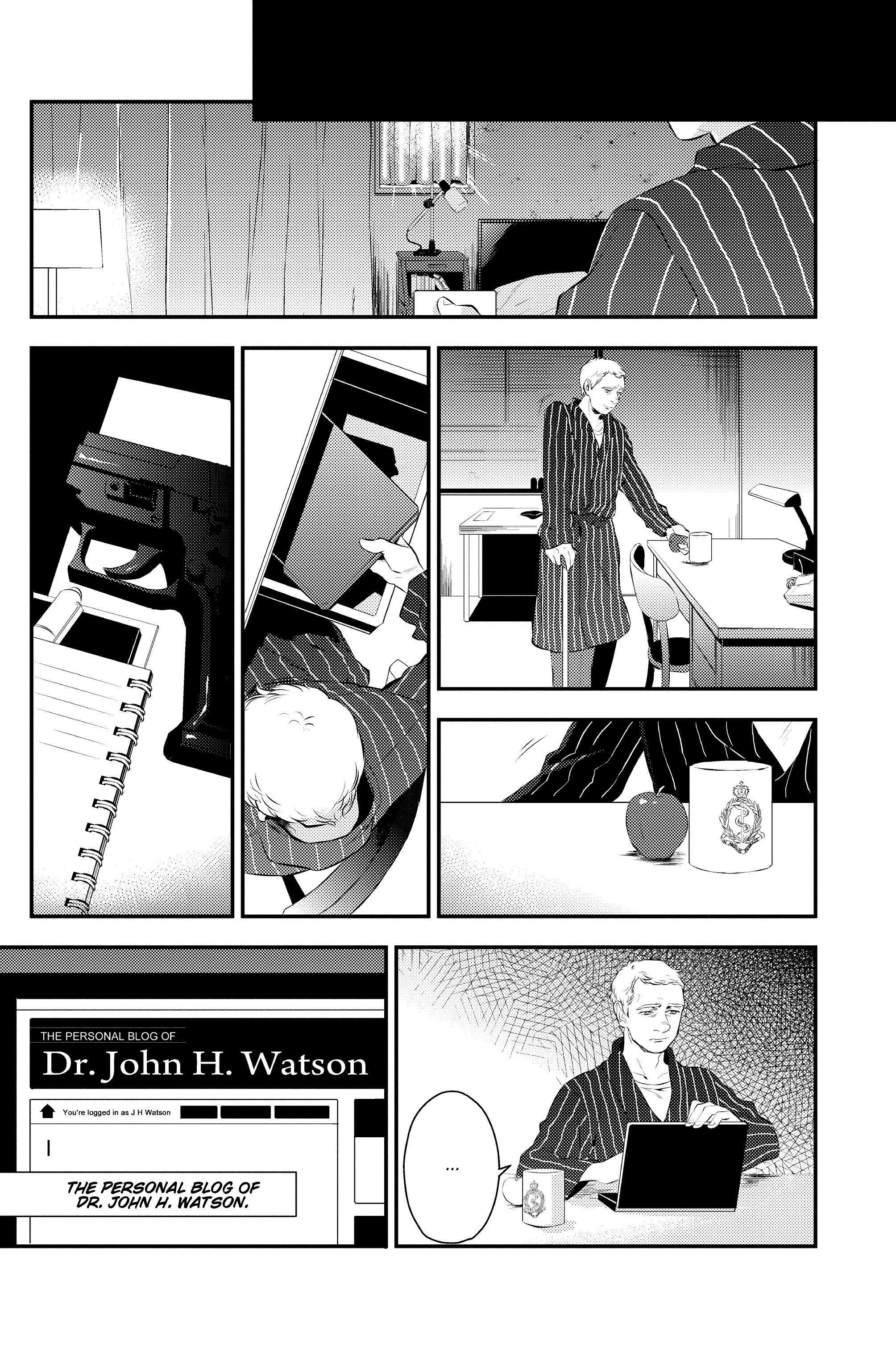 Read online Sherlock: A Study In Pink comic -  Issue #1 - 19