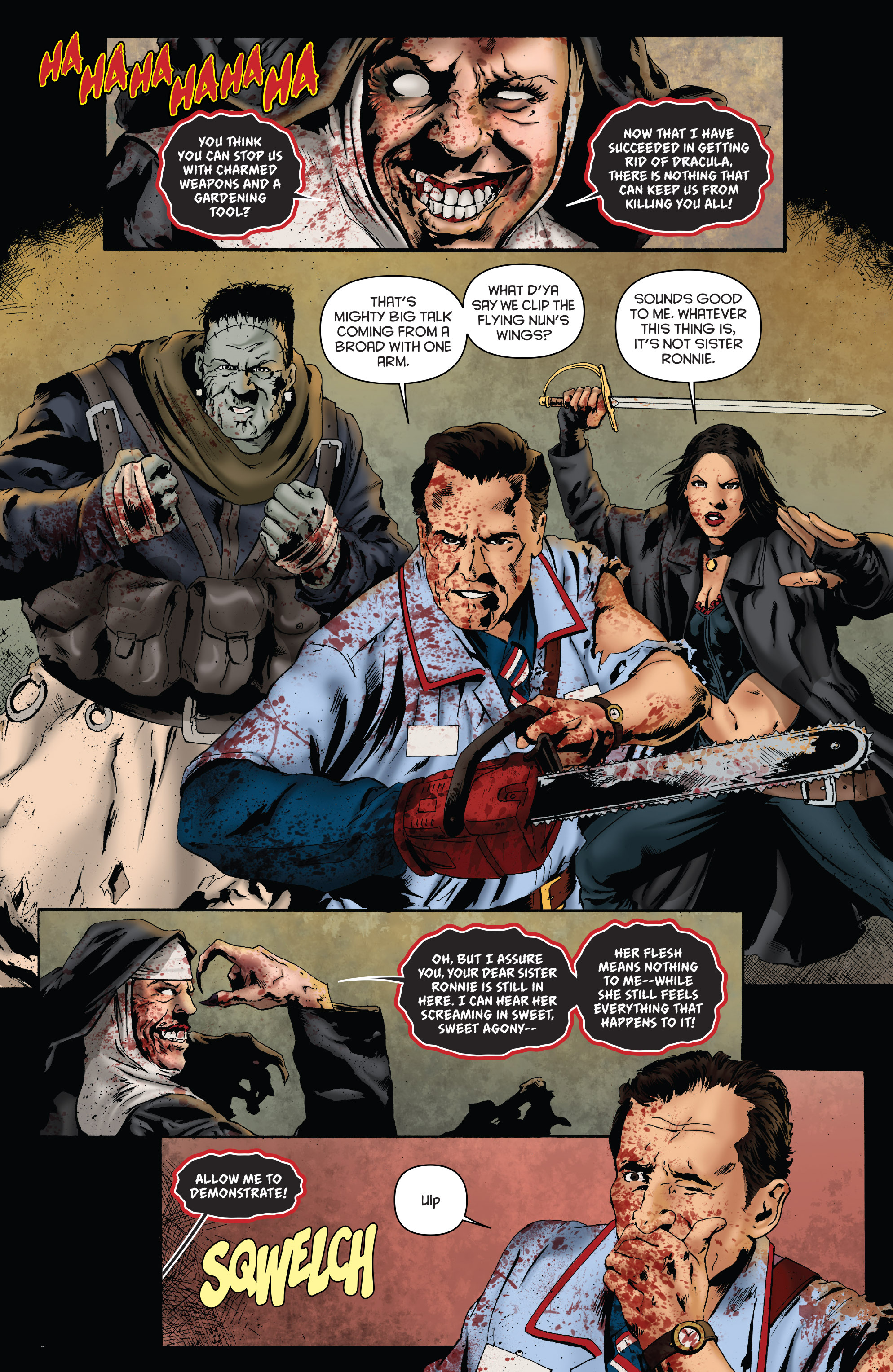 Read online Army of Darkness: Furious Road comic -  Issue #3 - 18