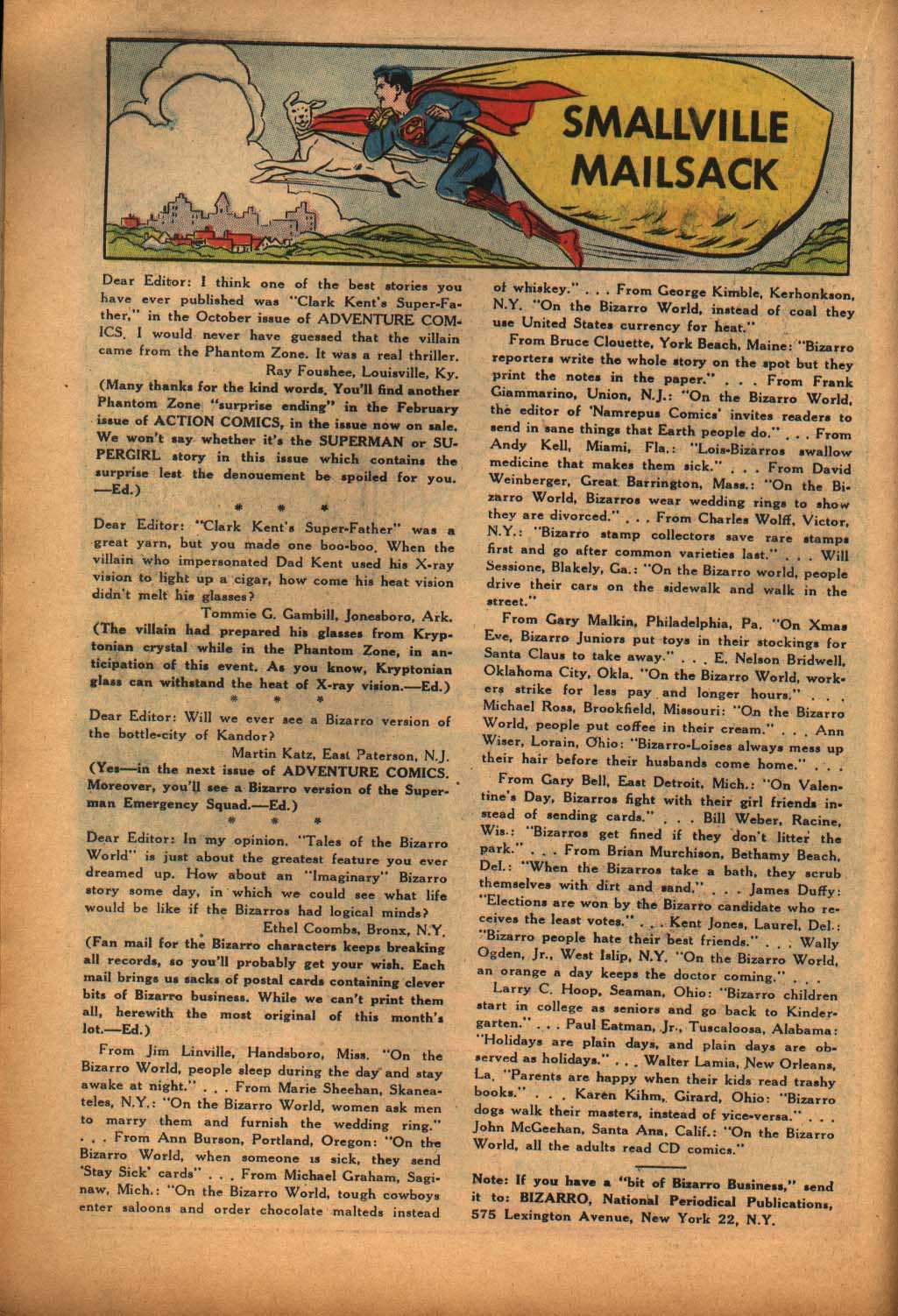 Read online Adventure Comics (1938) comic -  Issue #292 - 18