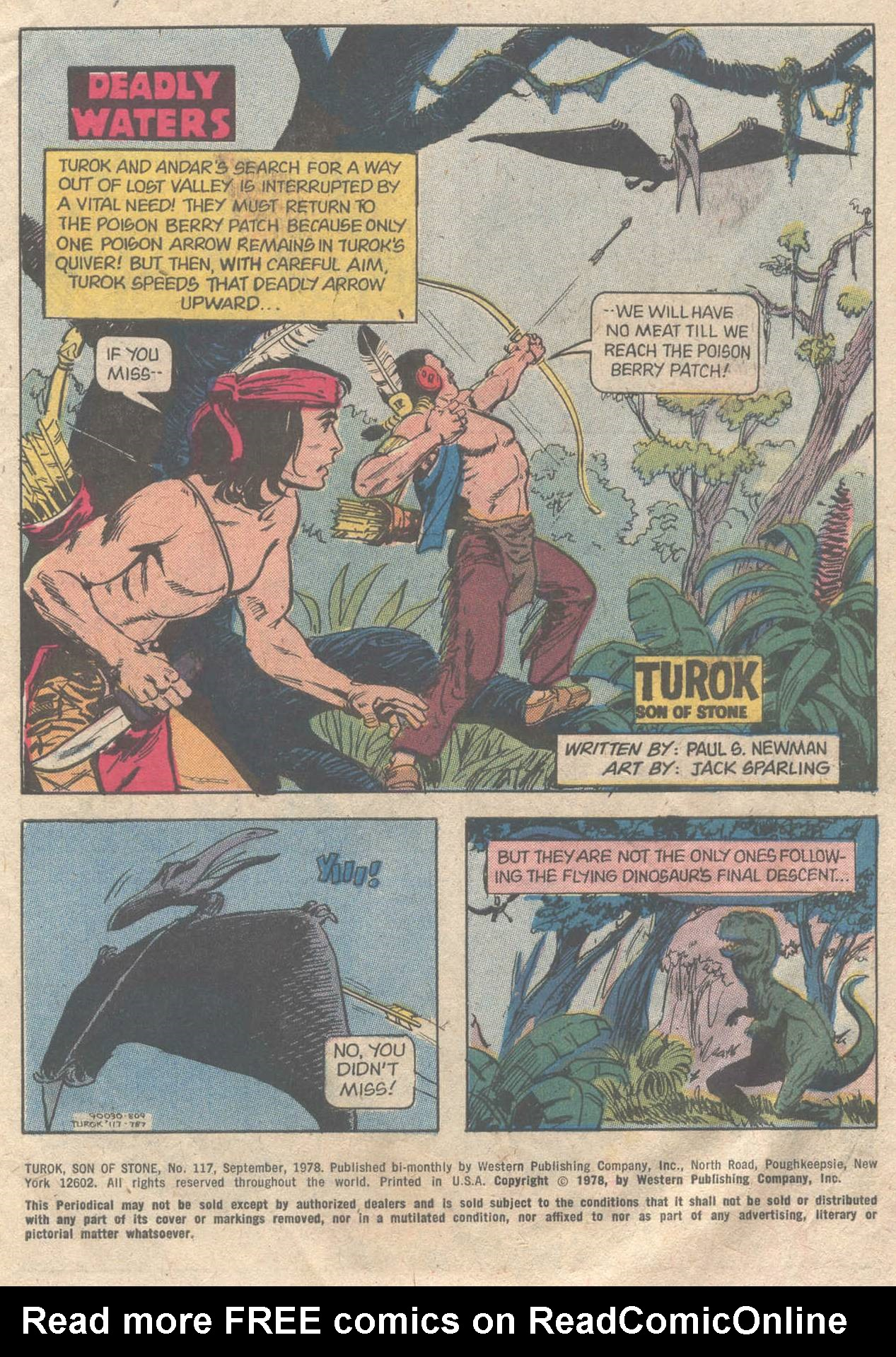 Read online Turok, Son of Stone comic -  Issue #117 - 3