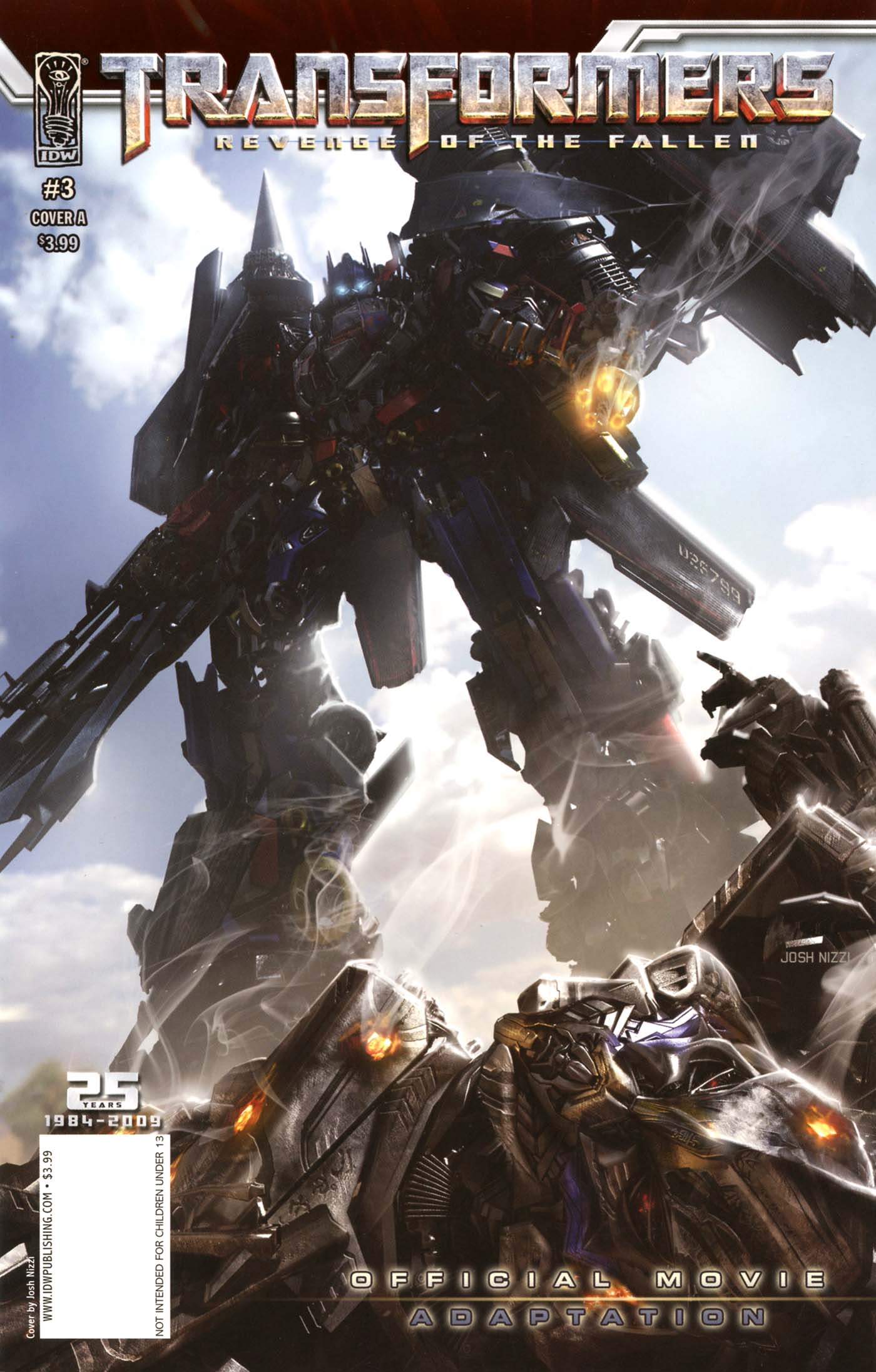 Transformers: Revenge of the Fallen — Official Movie Adaptation 3 Page 1
