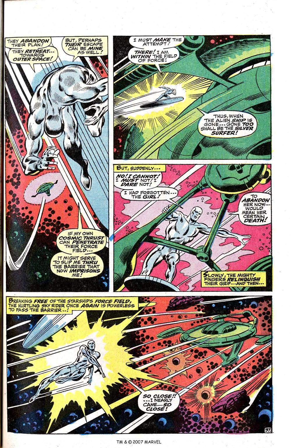 Read online Silver Surfer (1968) comic -  Issue #2 - 49