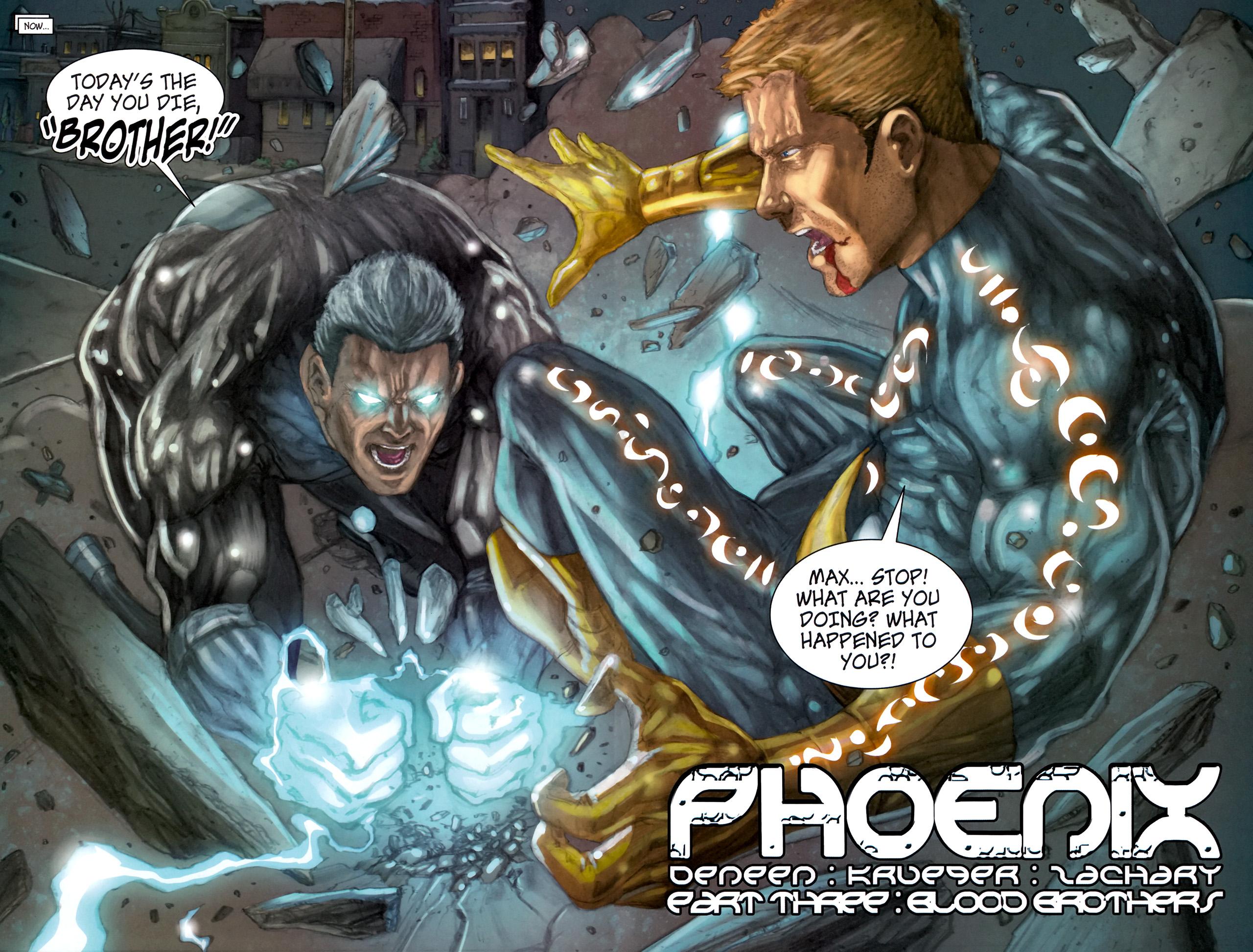 Read online Phoenix comic -  Issue #3 - 4