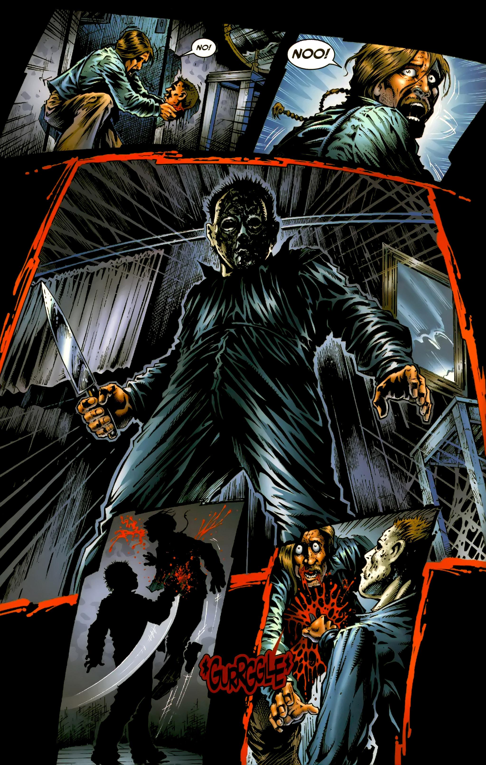 Read online Halloween II: The Blackest Eyes comic -  Issue # Full - 14