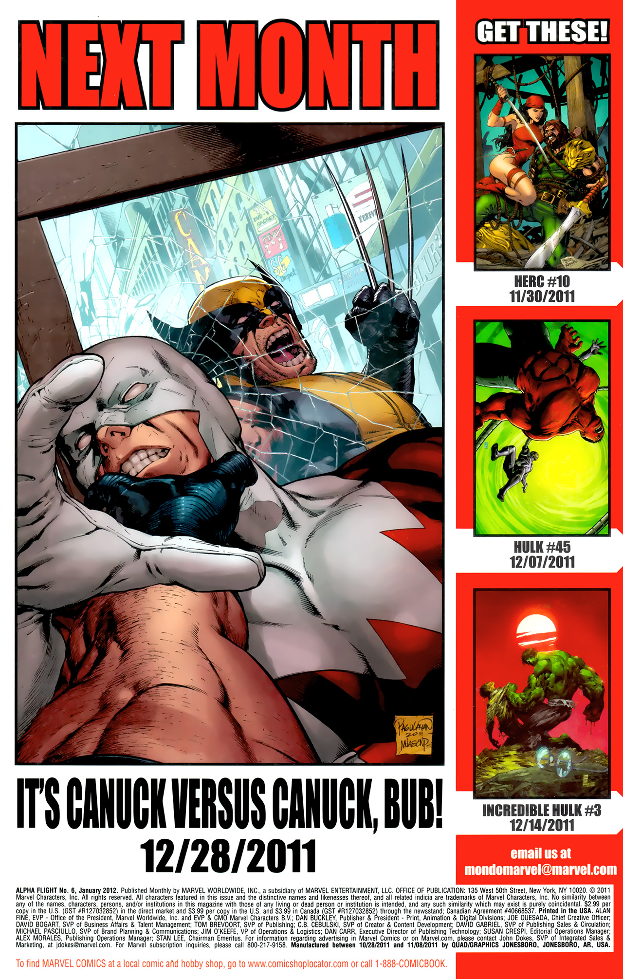 Read online Alpha Flight (2011) comic -  Issue #6 - 23