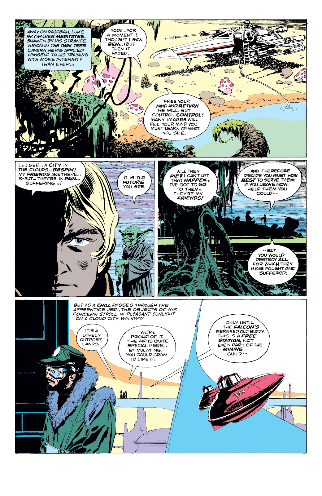 Read online Star Wars Legends: The Original Marvel Years - Epic Collection comic -  Issue # TPB 3 (Part 1) - 86