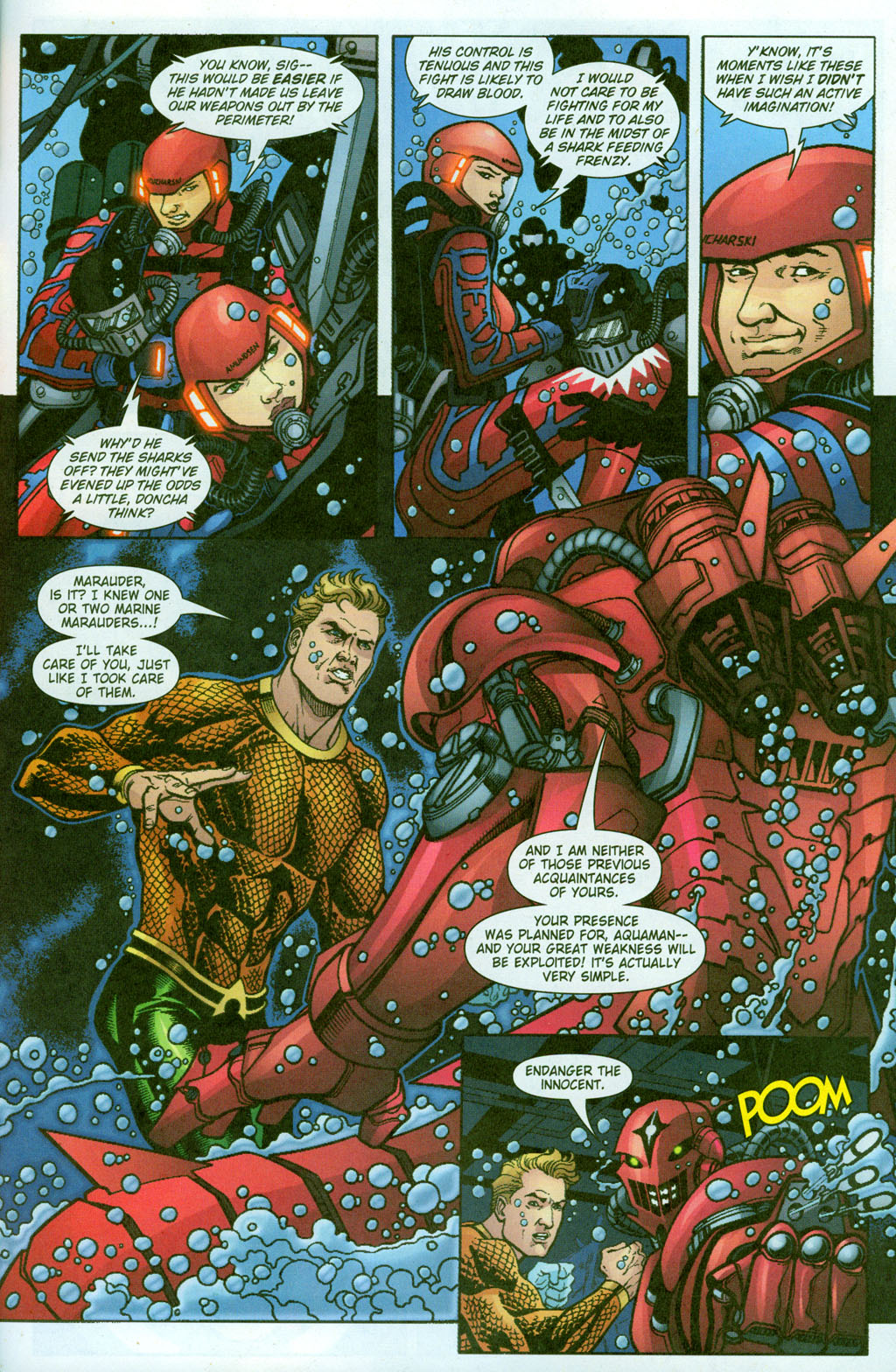 Read online Aquaman (2003) comic -  Issue #23 - 20