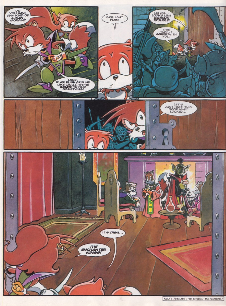 Read online Sonic the Comic comic -  Issue #143 - 20