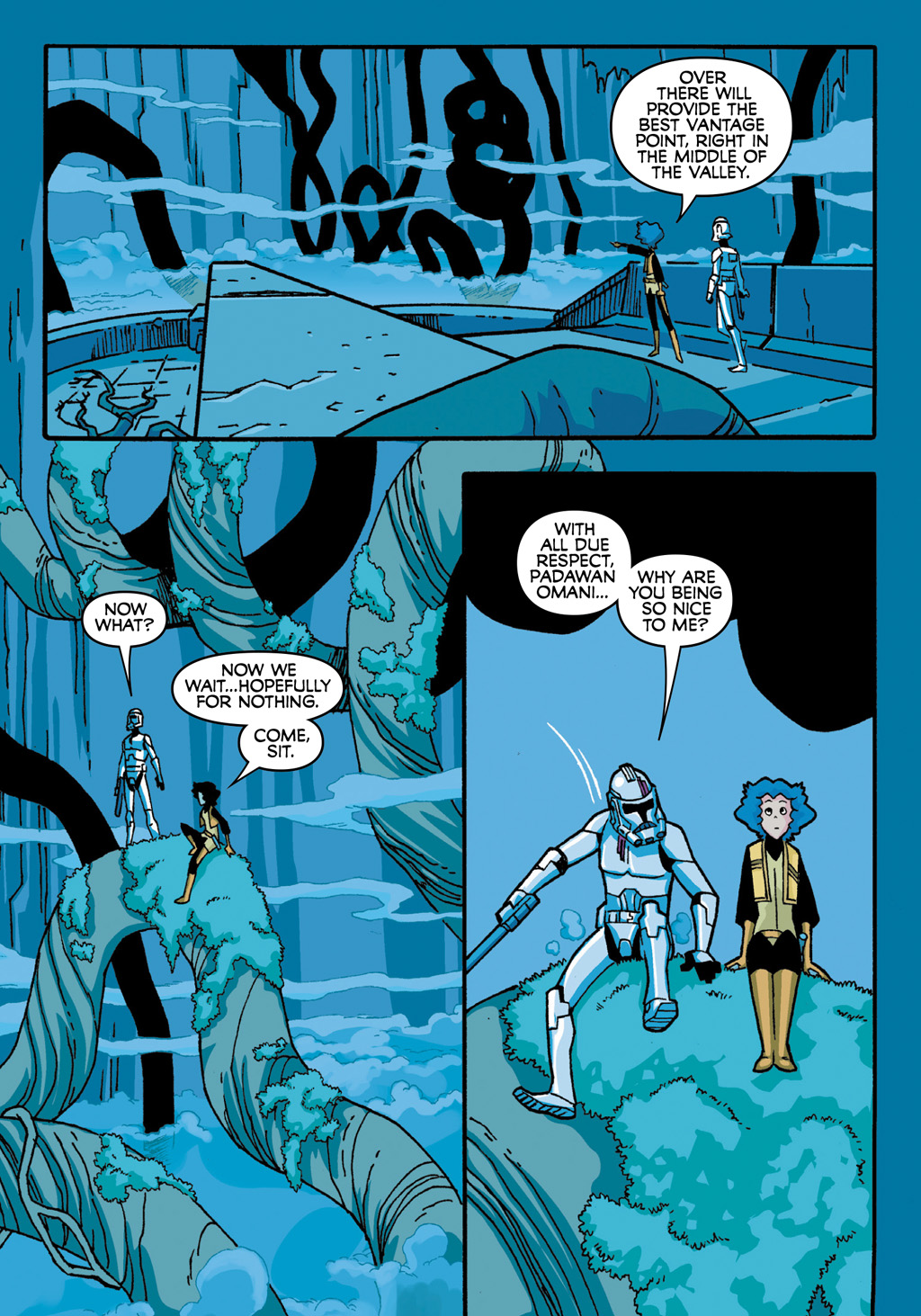 Read online Star Wars: The Clone Wars - Defenders of the Lost Temple comic -  Issue # Full - 42