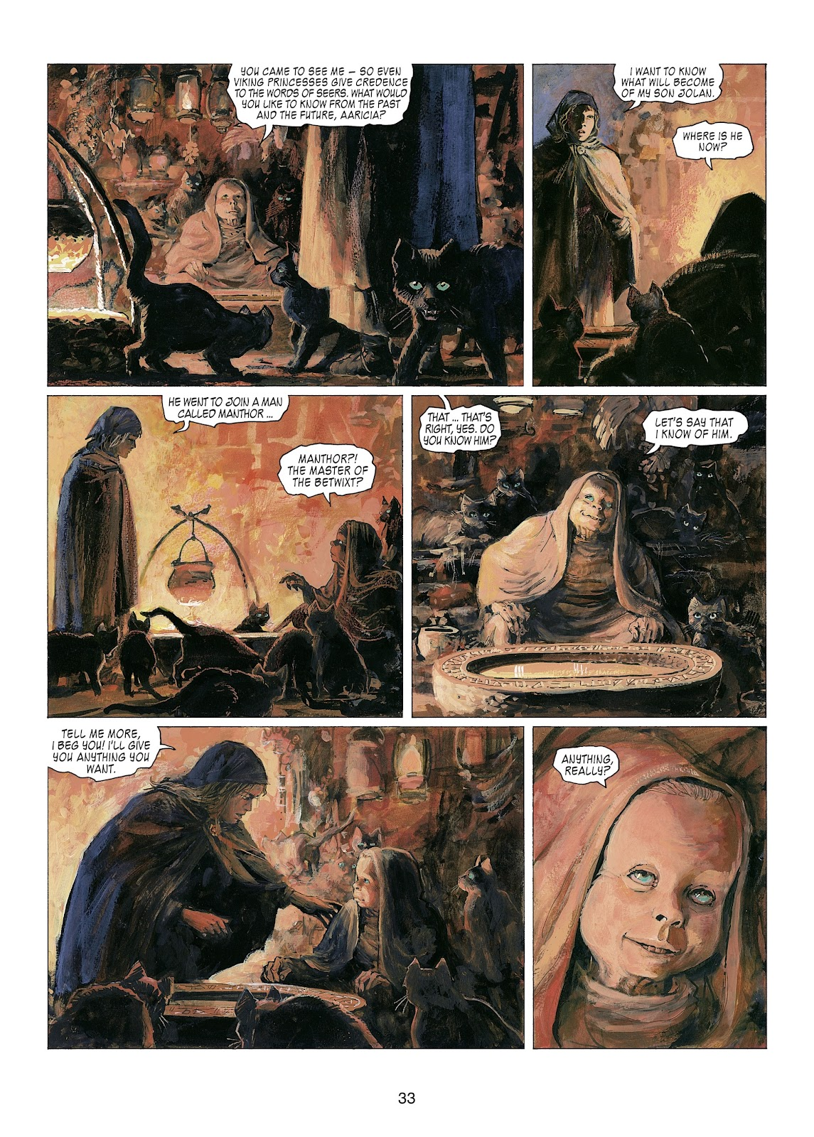 Read online Thorgal comic -  Issue #22 - 35