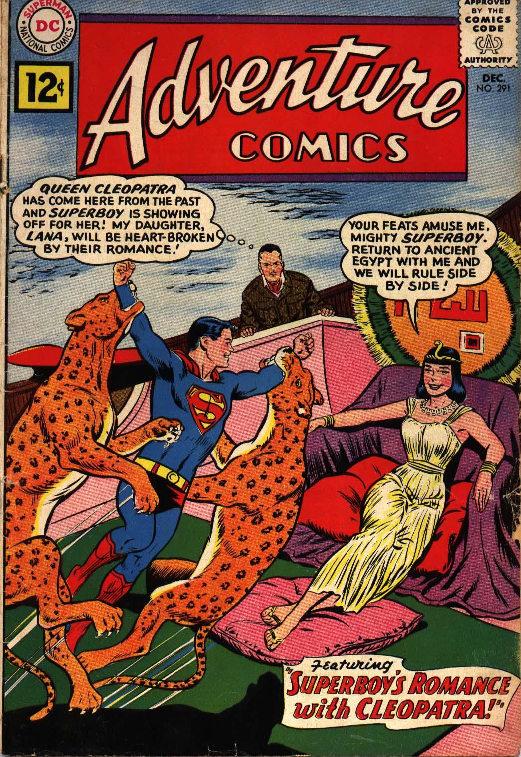 Read online Adventure Comics (1938) comic -  Issue #291 - 1