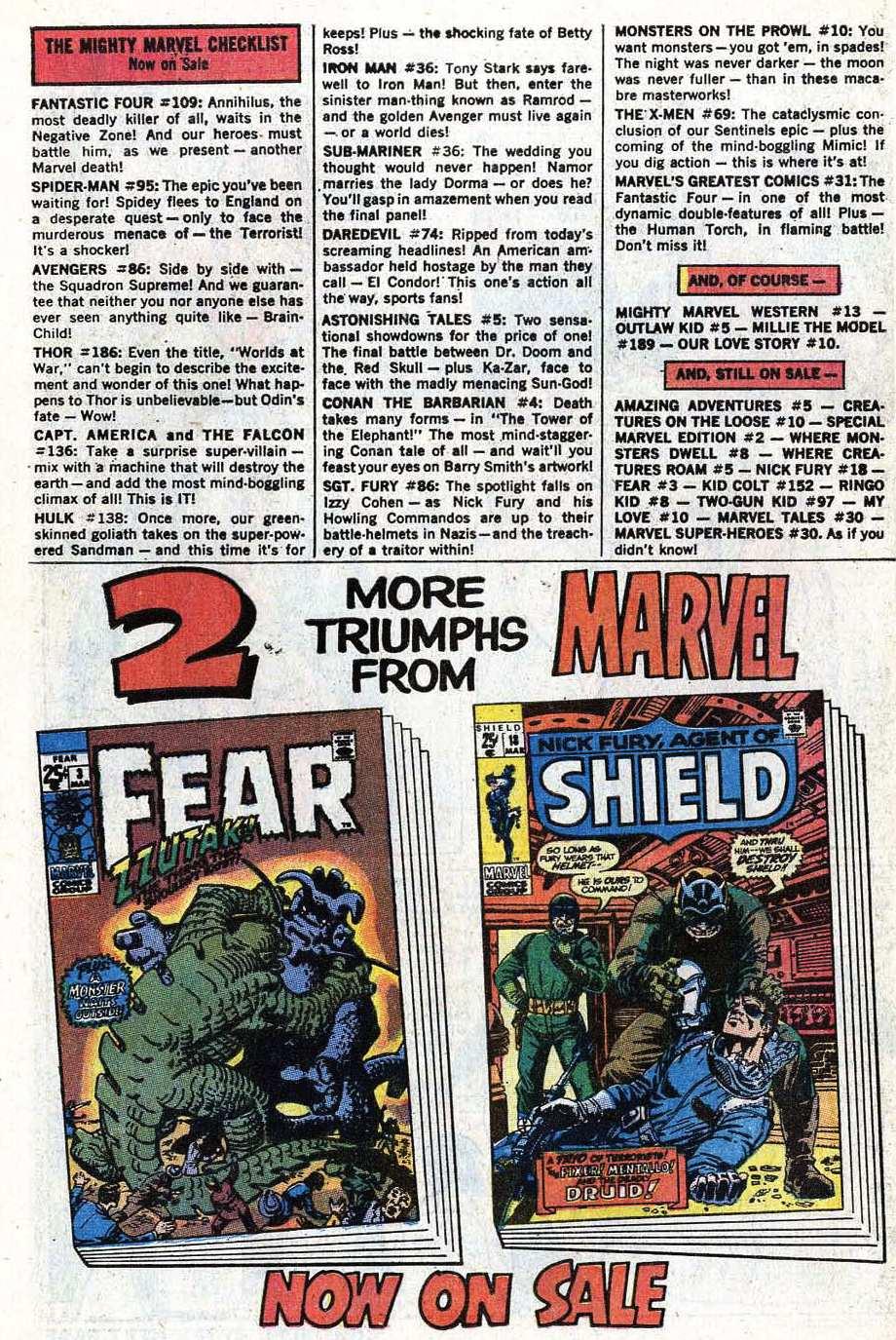 Read online Uncanny X-Men (1963) comic -  Issue #69 - 38