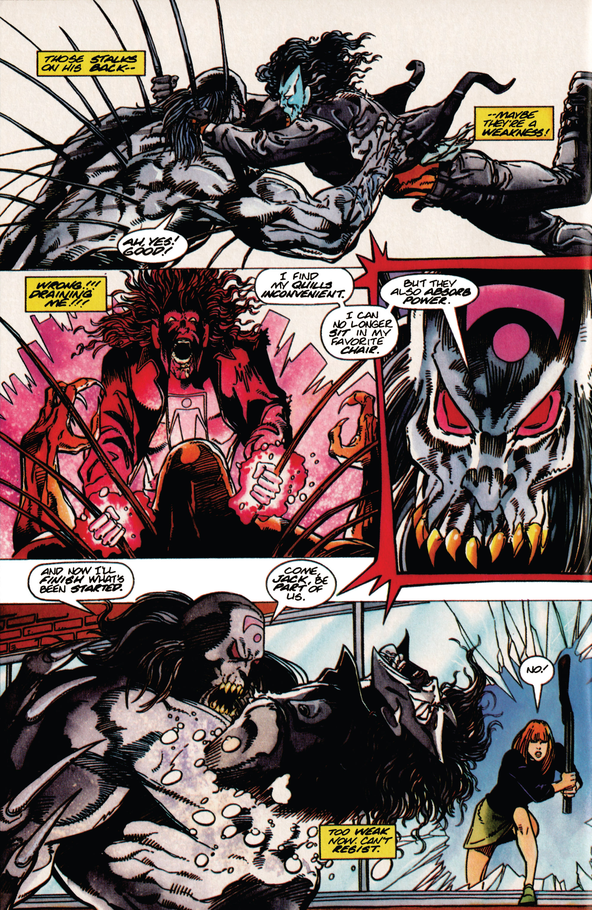 Read online Shadowman (1992) comic -  Issue #31 - 20