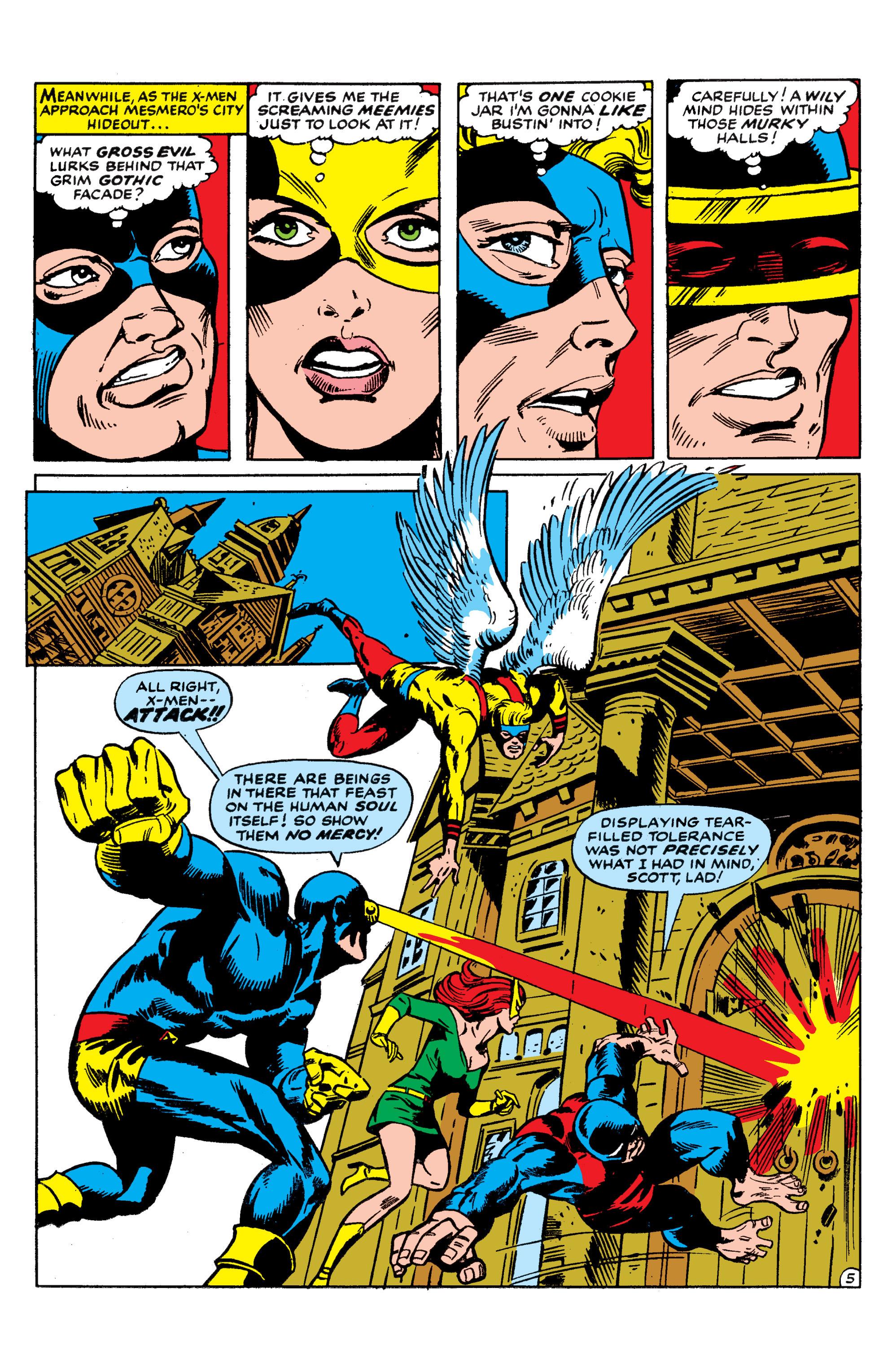 Read online Uncanny X-Men (1963) comic -  Issue #50 - 5